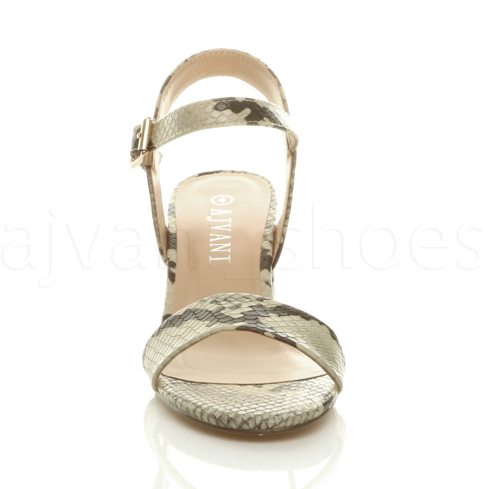 WOMENS-LADIES-MID-LOW-BLOCK-HEEL-PEEP-TOE-ANKLE-STRAP-STRAPPY-PARTY-SANDALS-SIZE thumbnail 7