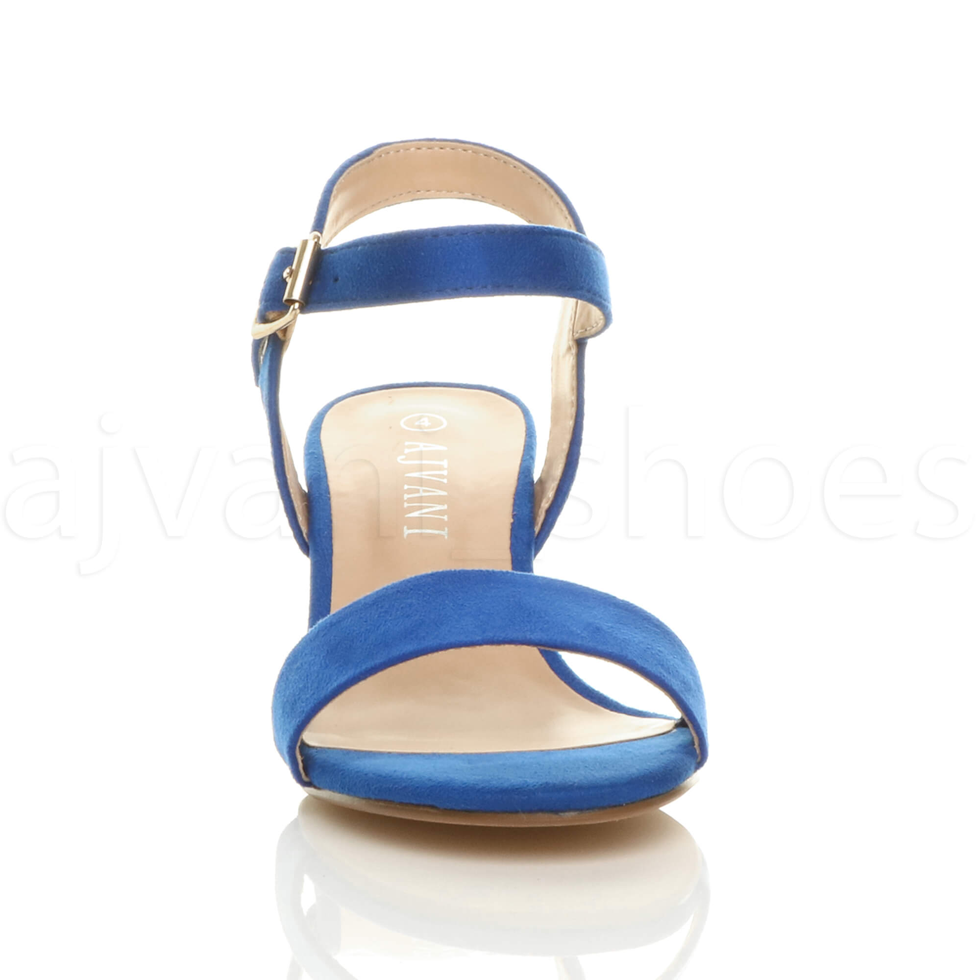 WOMENS-LADIES-MID-LOW-BLOCK-HEEL-PEEP-TOE-ANKLE-STRAP-STRAPPY-PARTY-SANDALS-SIZE thumbnail 39