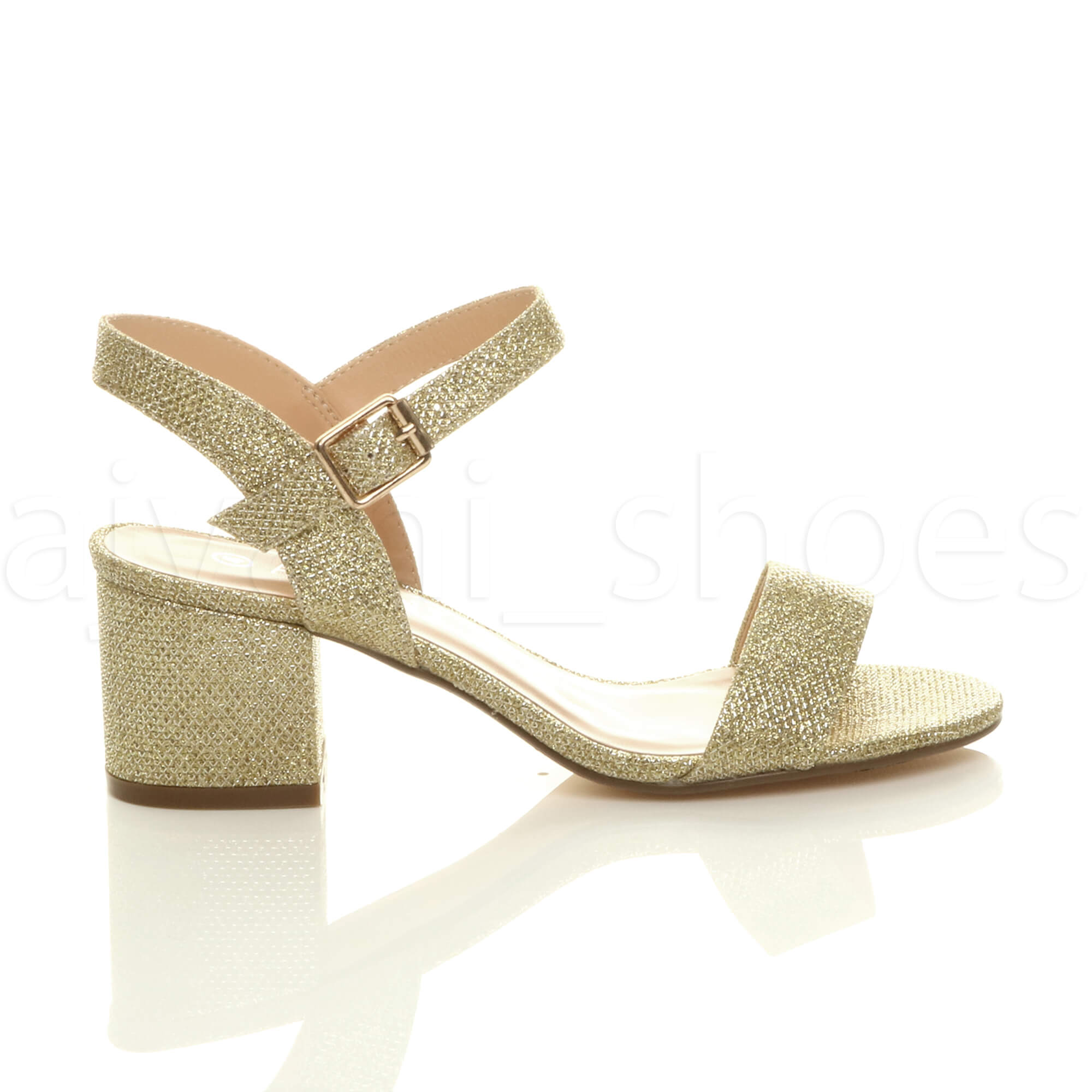 WOMENS-LADIES-MID-LOW-BLOCK-HEEL-PEEP-TOE-ANKLE-STRAP-STRAPPY-PARTY-SANDALS-SIZE thumbnail 51