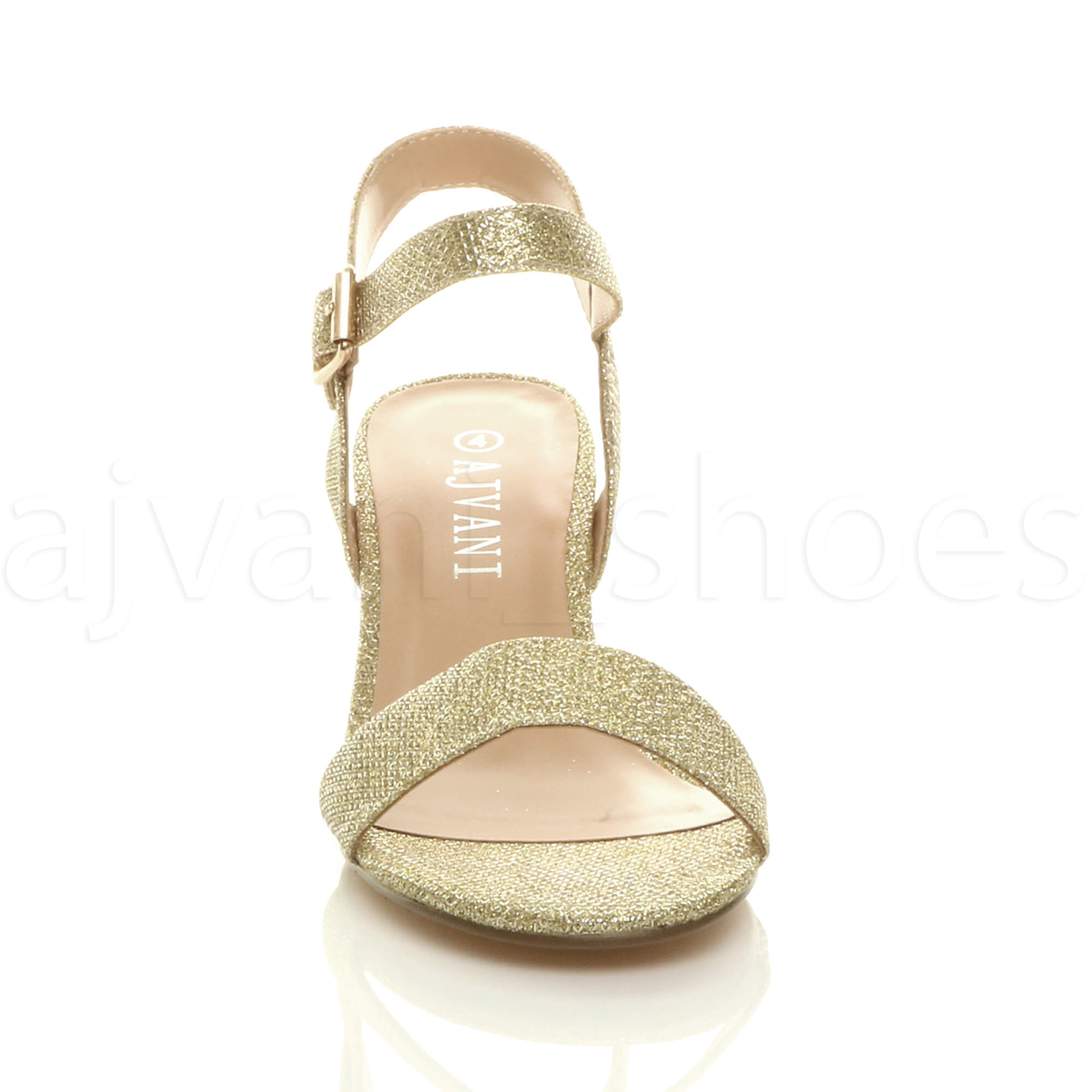 WOMENS-LADIES-MID-LOW-BLOCK-HEEL-PEEP-TOE-ANKLE-STRAP-STRAPPY-PARTY-SANDALS-SIZE thumbnail 55