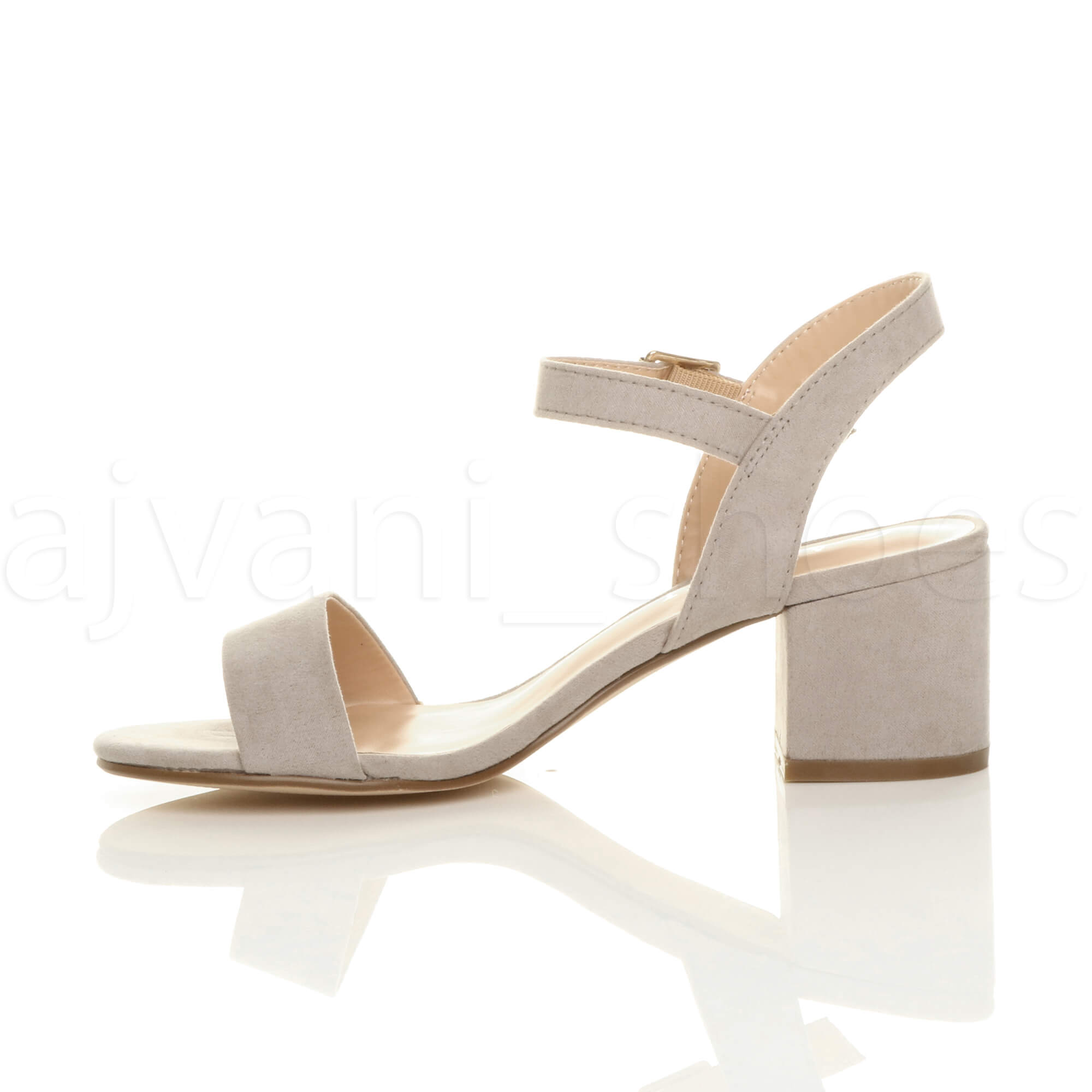 WOMENS-LADIES-MID-LOW-BLOCK-HEEL-PEEP-TOE-ANKLE-STRAP-STRAPPY-PARTY-SANDALS-SIZE thumbnail 68
