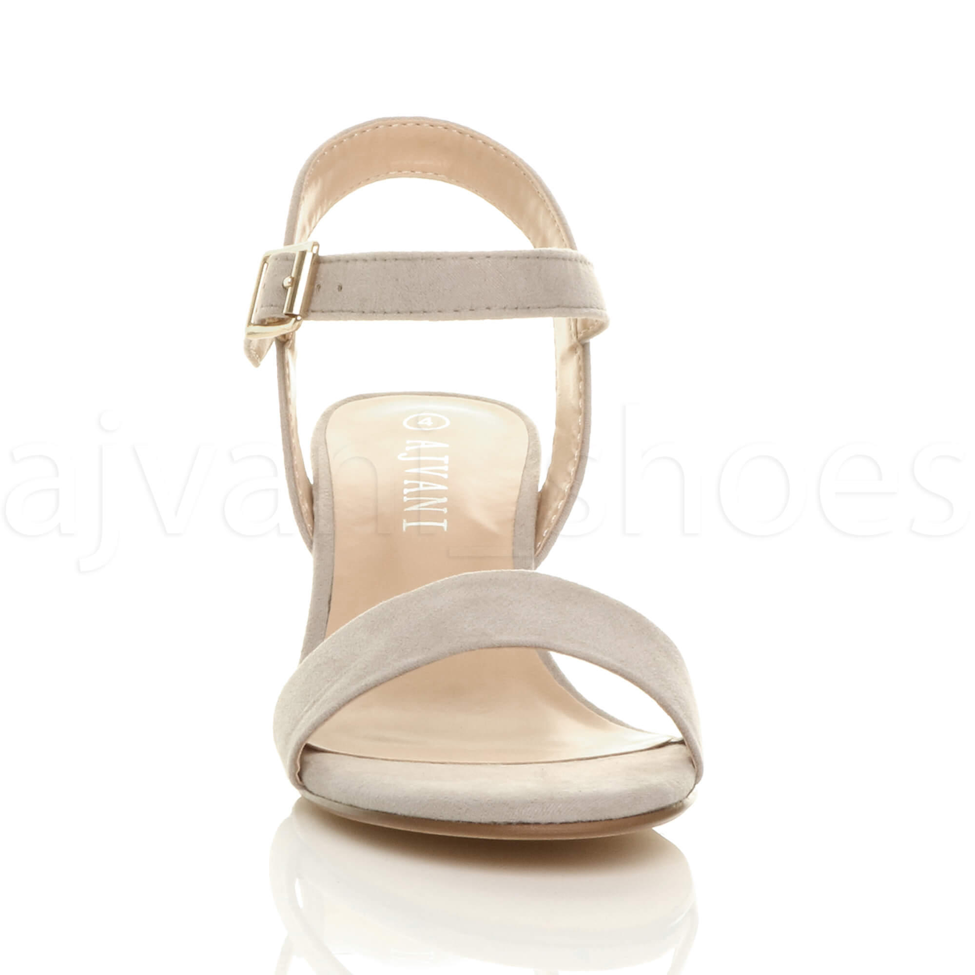 WOMENS-LADIES-MID-LOW-BLOCK-HEEL-PEEP-TOE-ANKLE-STRAP-STRAPPY-PARTY-SANDALS-SIZE thumbnail 71