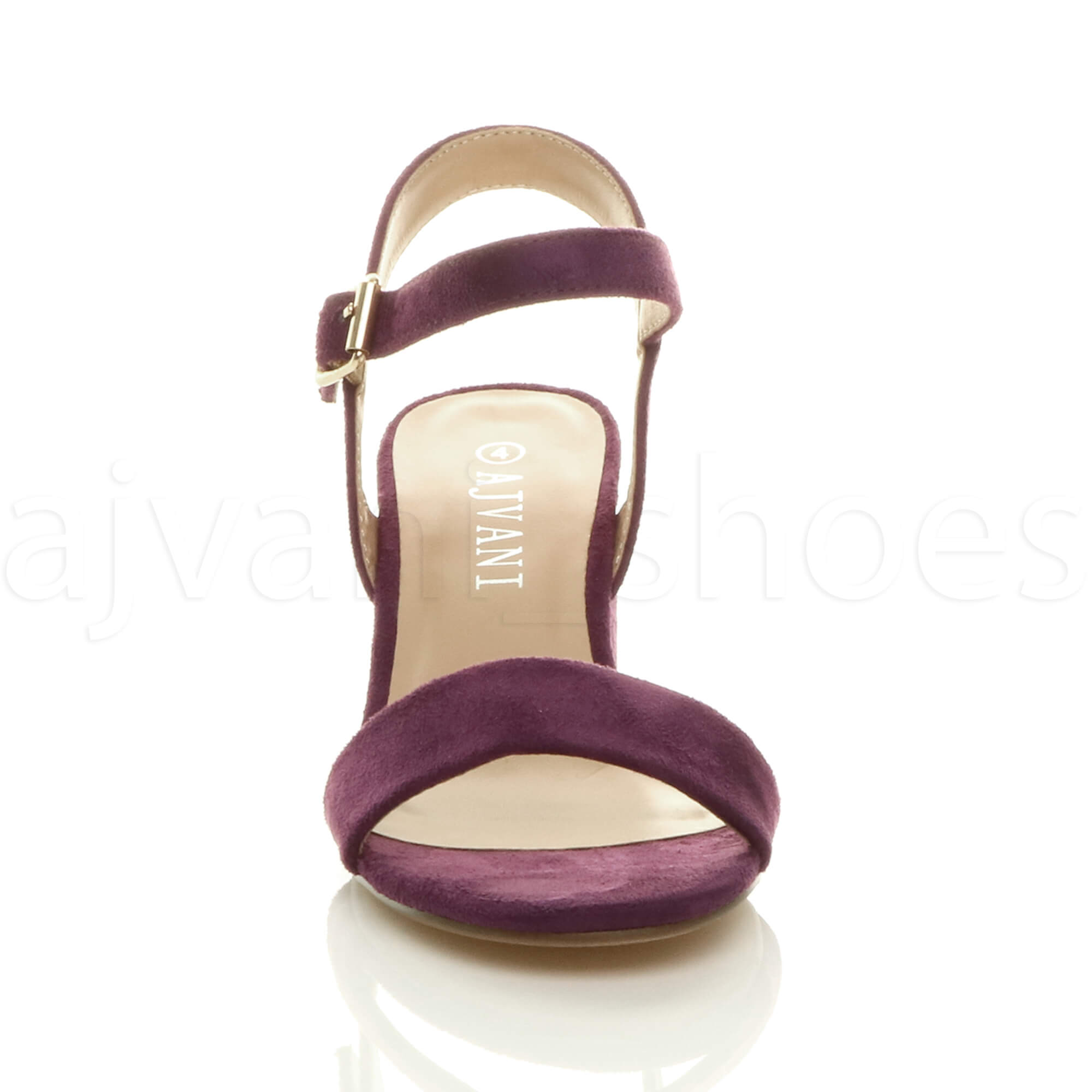 WOMENS-LADIES-MID-LOW-BLOCK-HEEL-PEEP-TOE-ANKLE-STRAP-STRAPPY-PARTY-SANDALS-SIZE thumbnail 103