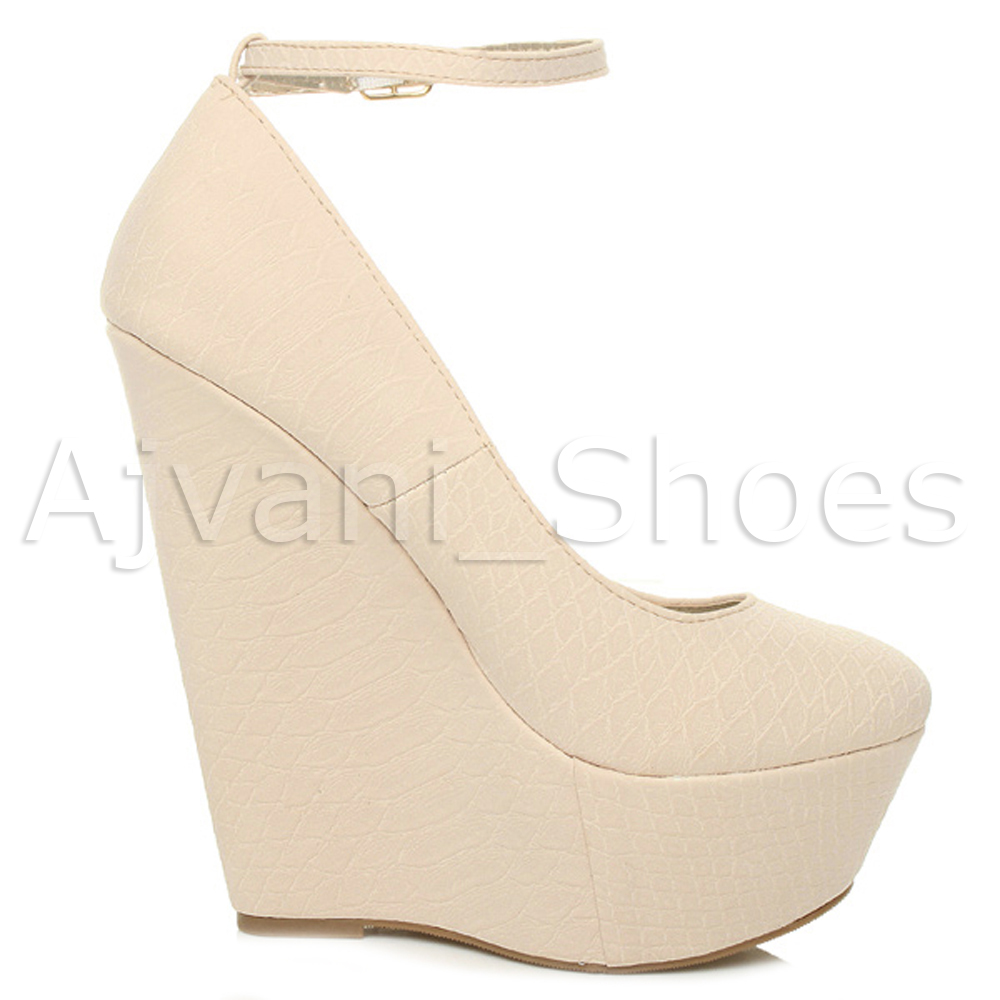 WOMENS-LADIES-HIGH-HEEL-WEDGE-PLATFORM-ANKLE-STRAP-BUCKLE-PROM-PARTY-SHOES-SIZE