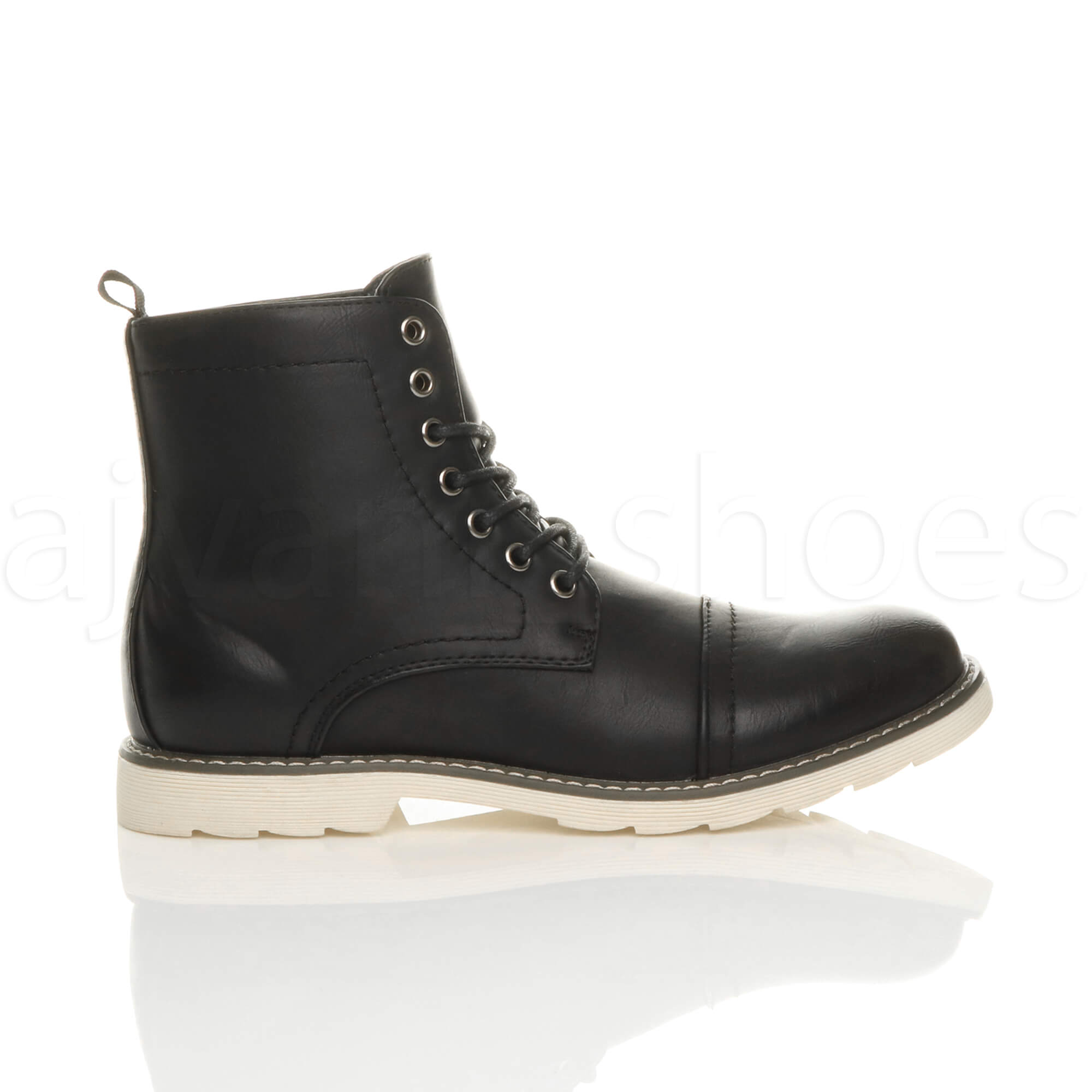 MENS-LACE-UP-CONTRAST-RUBBER-SOLE-SMART-WORK-CASUAL-MILITARY-ANKLE-BOOTS-SIZE