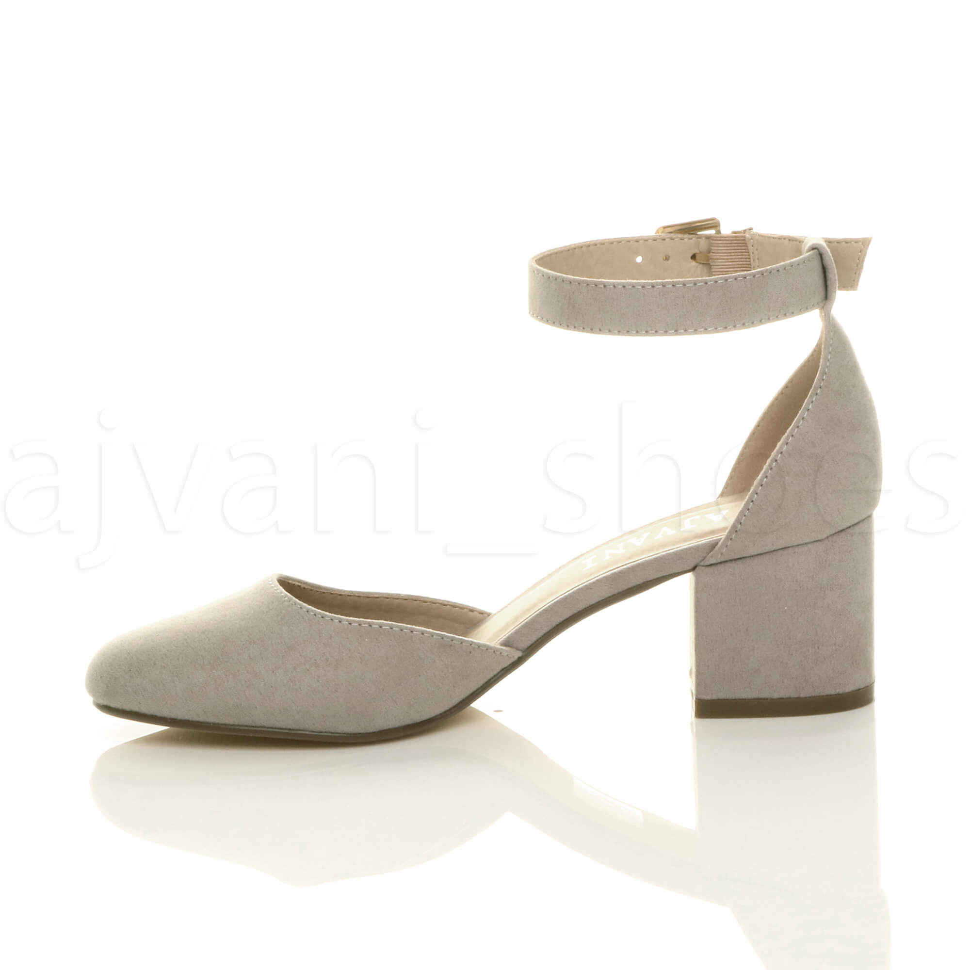 WOMENS-LADIES-LOW-MID-BLOCK-HEEL-ANKLE-STRAP-MARY-JANE-COURT-SHOES-SANDALS-SIZE thumbnail 68