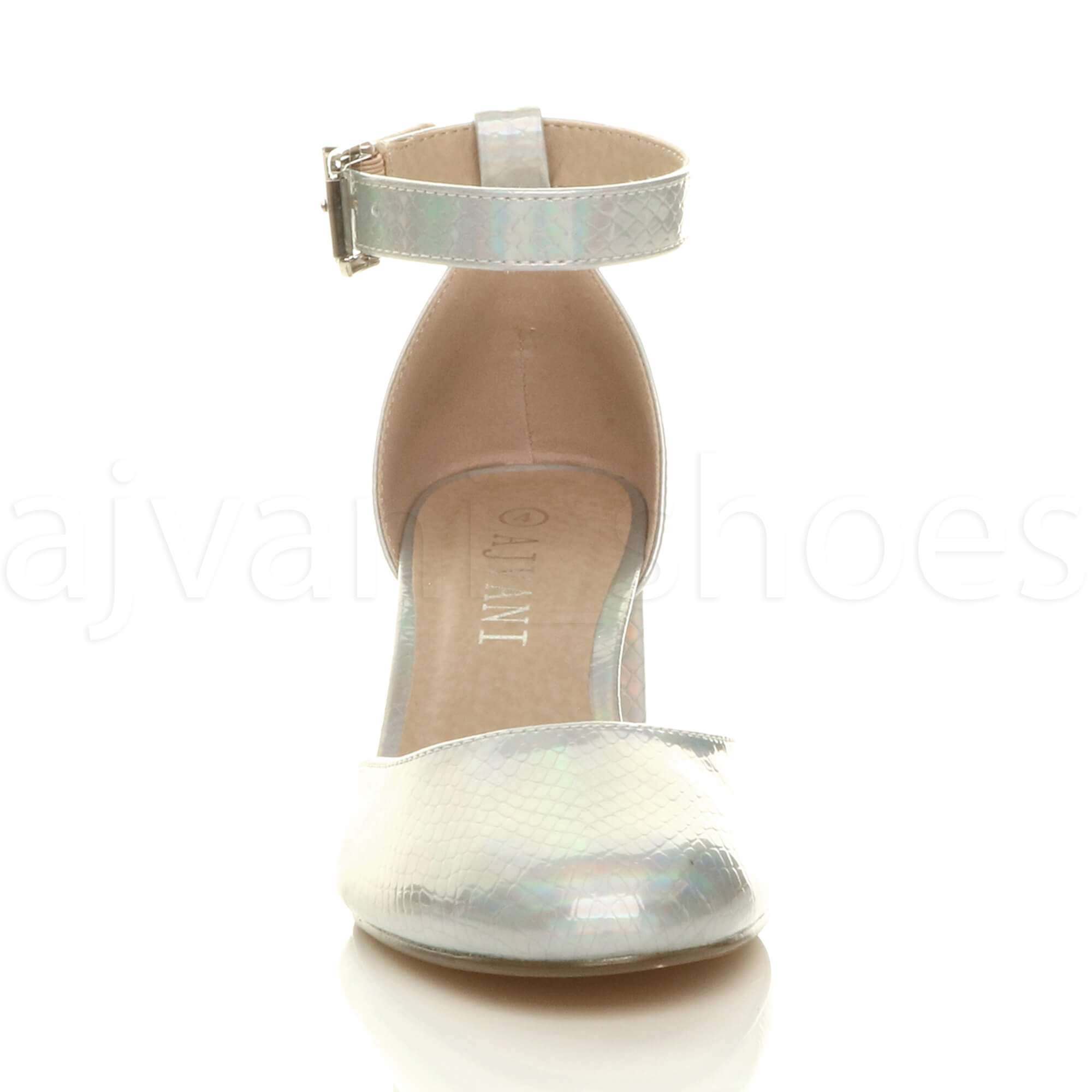 WOMENS-LADIES-LOW-MID-BLOCK-HEEL-ANKLE-STRAP-MARY-JANE-COURT-SHOES-SANDALS-SIZE thumbnail 167