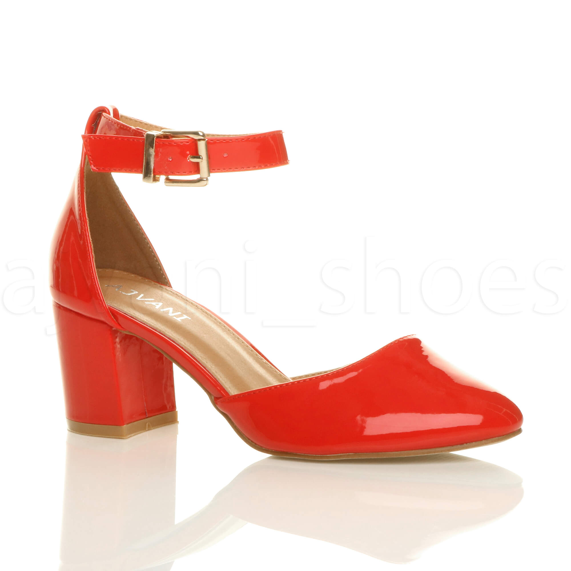 Shoes With Ankle Strap With Low Heel