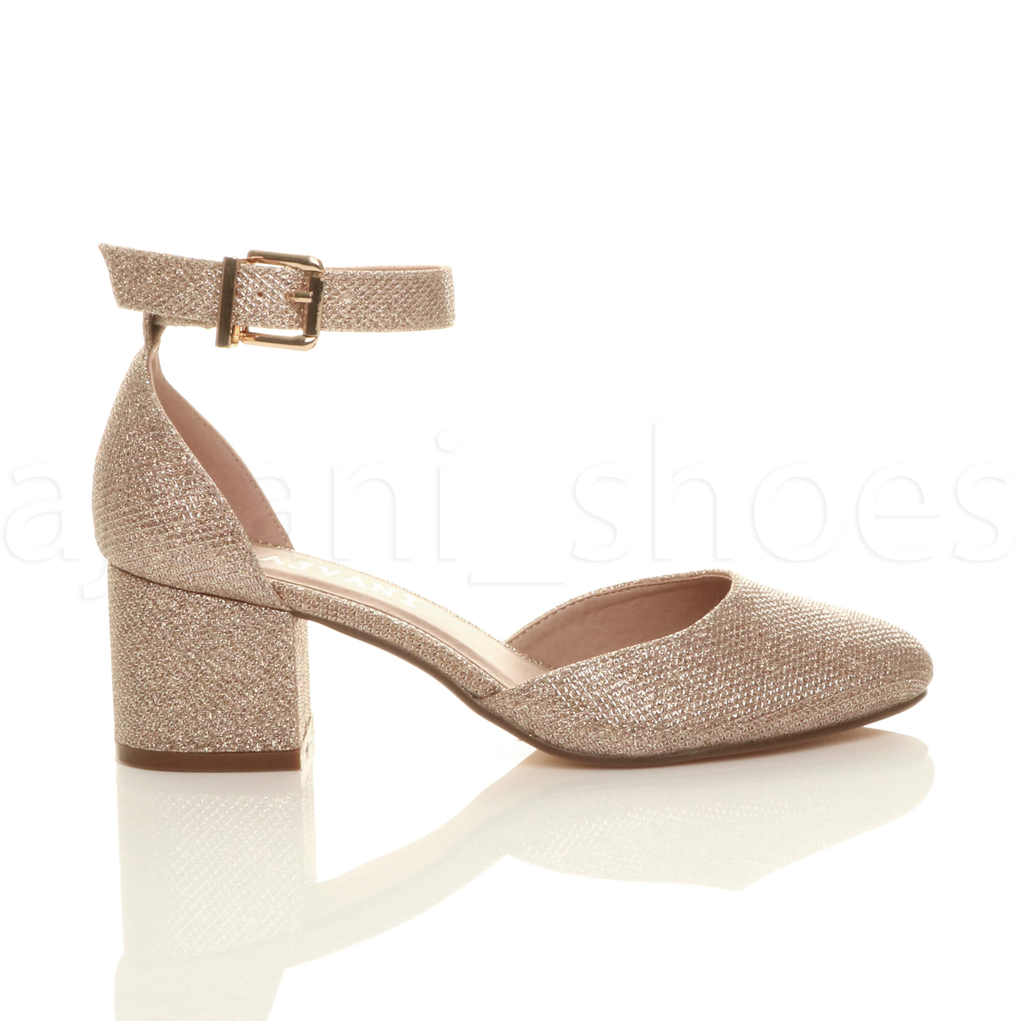WOMENS-LADIES-LOW-MID-BLOCK-HEEL-ANKLE-STRAP-MARY-JANE-COURT-SHOES-SANDALS-SIZE thumbnail 155