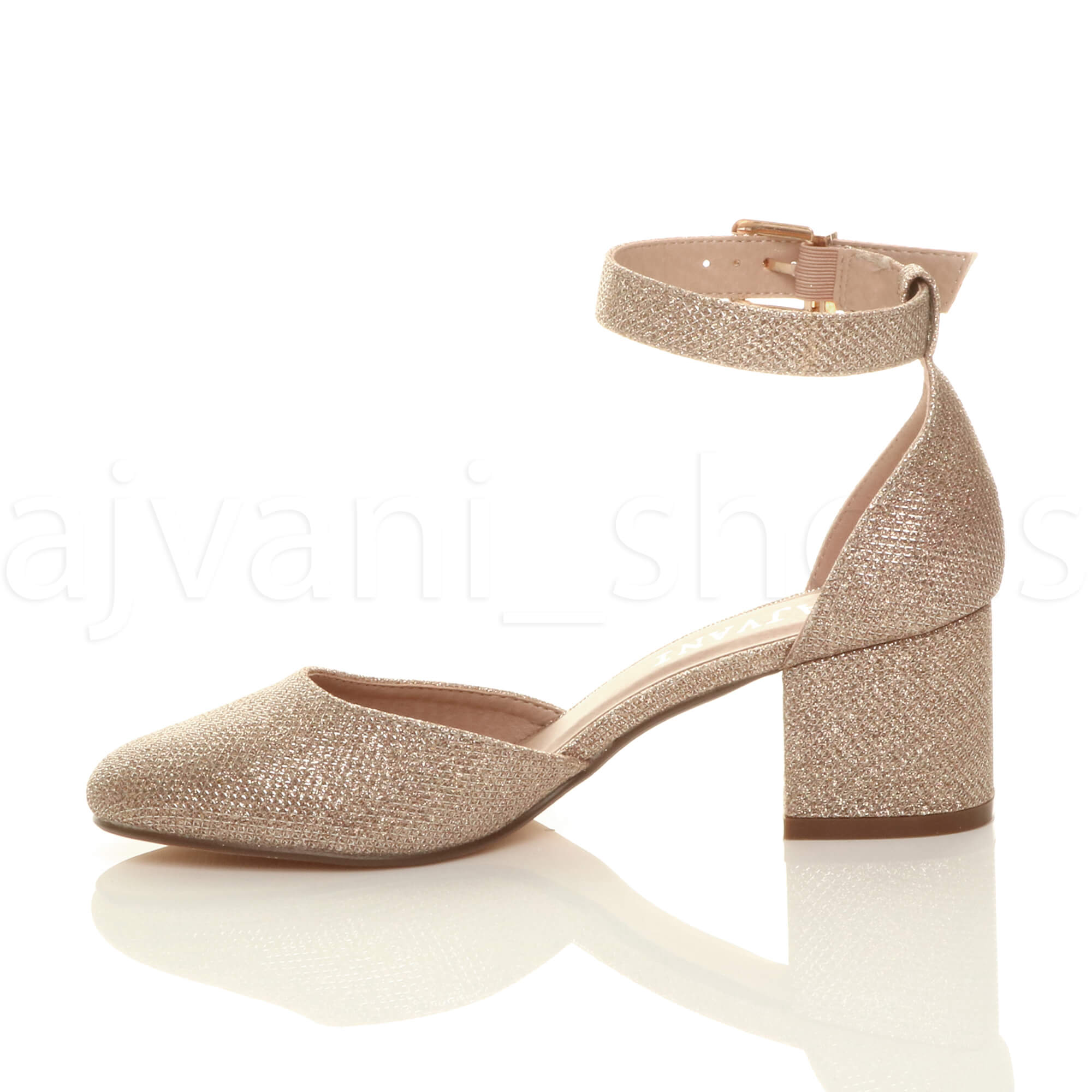WOMENS-LADIES-LOW-MID-BLOCK-HEEL-ANKLE-STRAP-MARY-JANE-COURT-SHOES-SANDALS-SIZE thumbnail 156