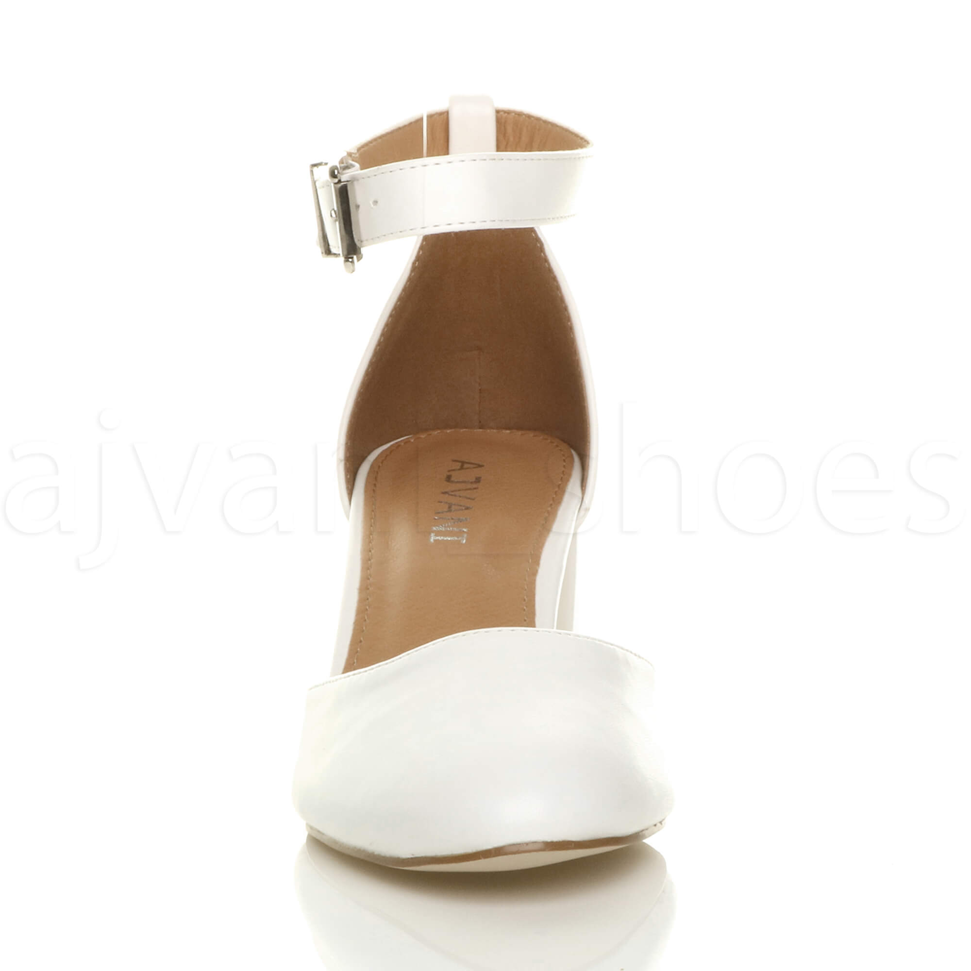 WOMENS-LADIES-LOW-MID-BLOCK-HEEL-ANKLE-STRAP-MARY-JANE-COURT-SHOES-SANDALS-SIZE thumbnail 199