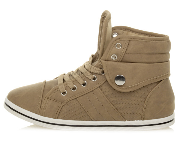 WOMENS-LADIES-GIRLS-FLAT-LACE-UP-SPORTS-HIGH-HI-TOP-PUMPS-TRAINERS-SHOES-SIZE