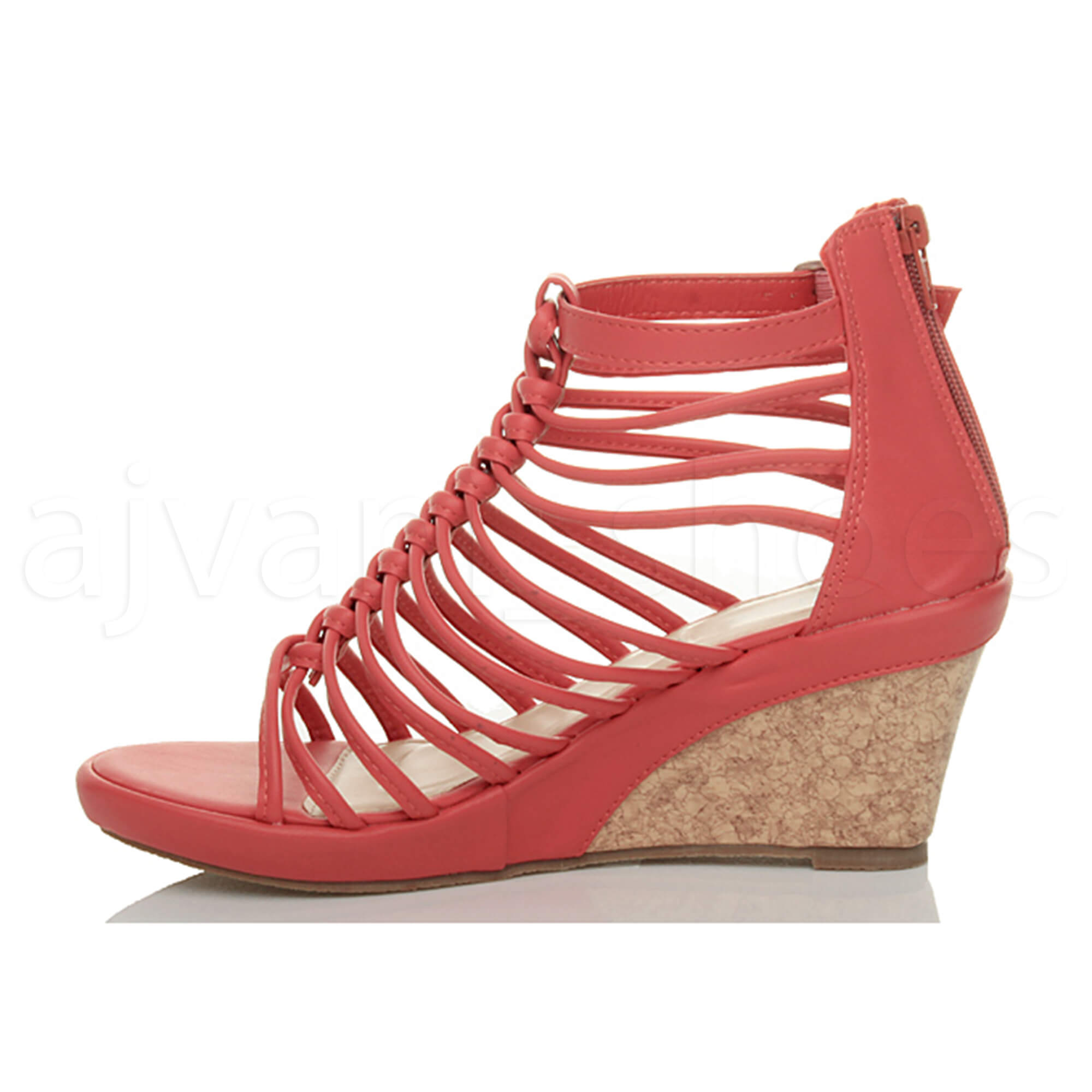 WOMENS-LADIES-STRAPPY-GLADIATOR-PLATFORM-SUMMER-HIGH-HEEL-WEDGE-SANDALS-SIZE
