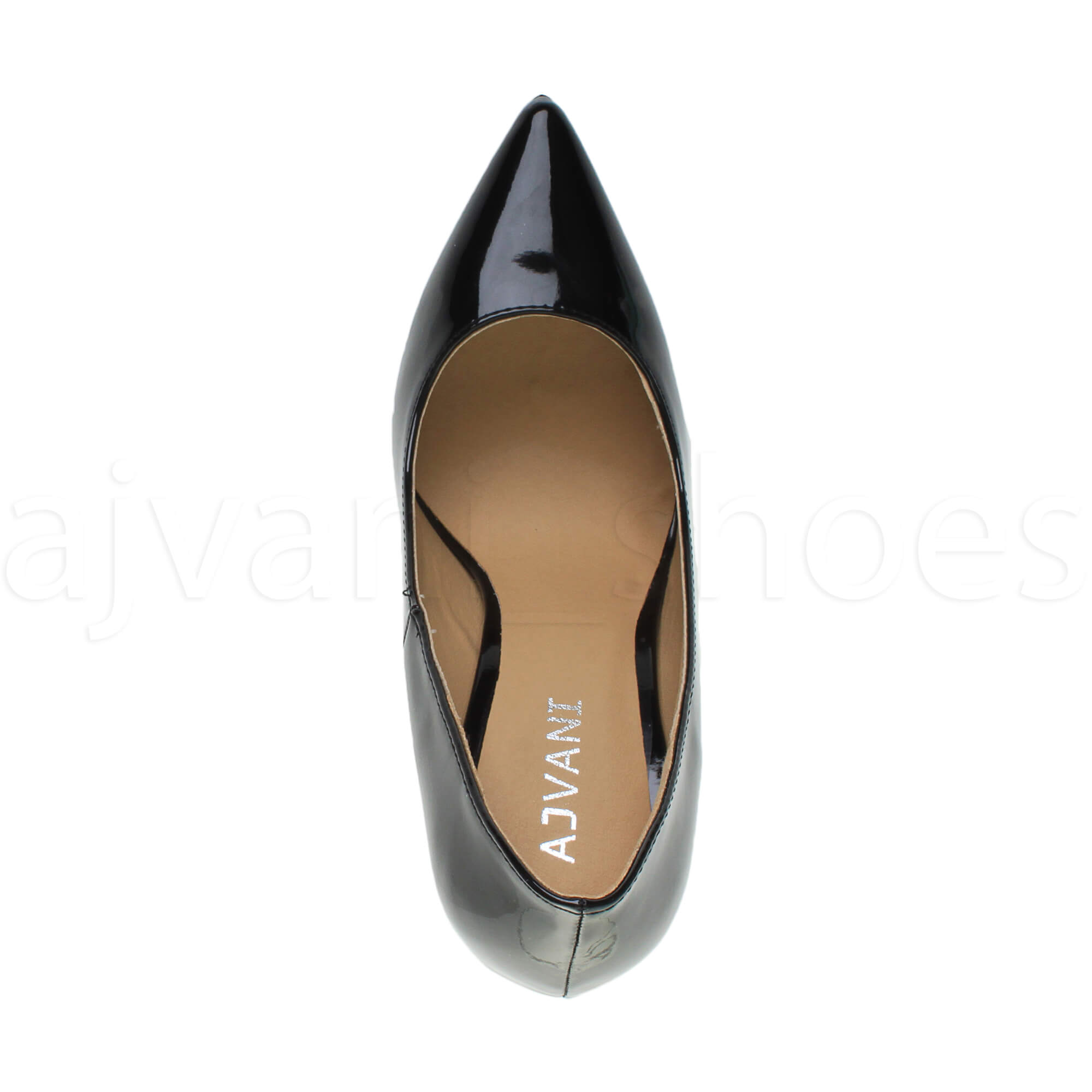WOMENS-LADIES-HIGH-HEEL-POINTED-CONTRAST-COURT-SMART-PARTY-WORK-SHOES-PUMPS-SIZE thumbnail 24