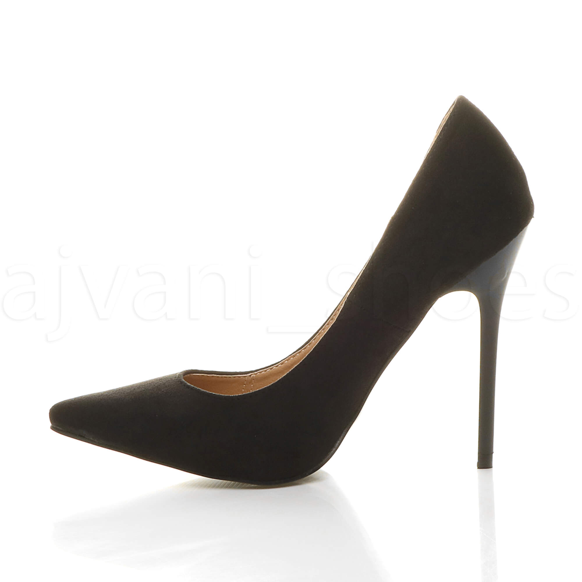 WOMENS-LADIES-HIGH-HEEL-POINTED-CONTRAST-COURT-SMART-PARTY-WORK-SHOES-PUMPS-SIZE thumbnail 28