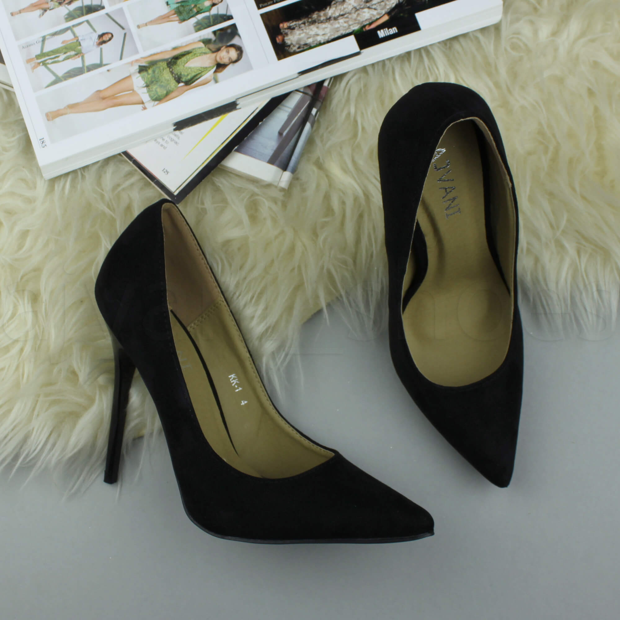 WOMENS-LADIES-HIGH-HEEL-POINTED-CONTRAST-COURT-SMART-PARTY-WORK-SHOES-PUMPS-SIZE thumbnail 29