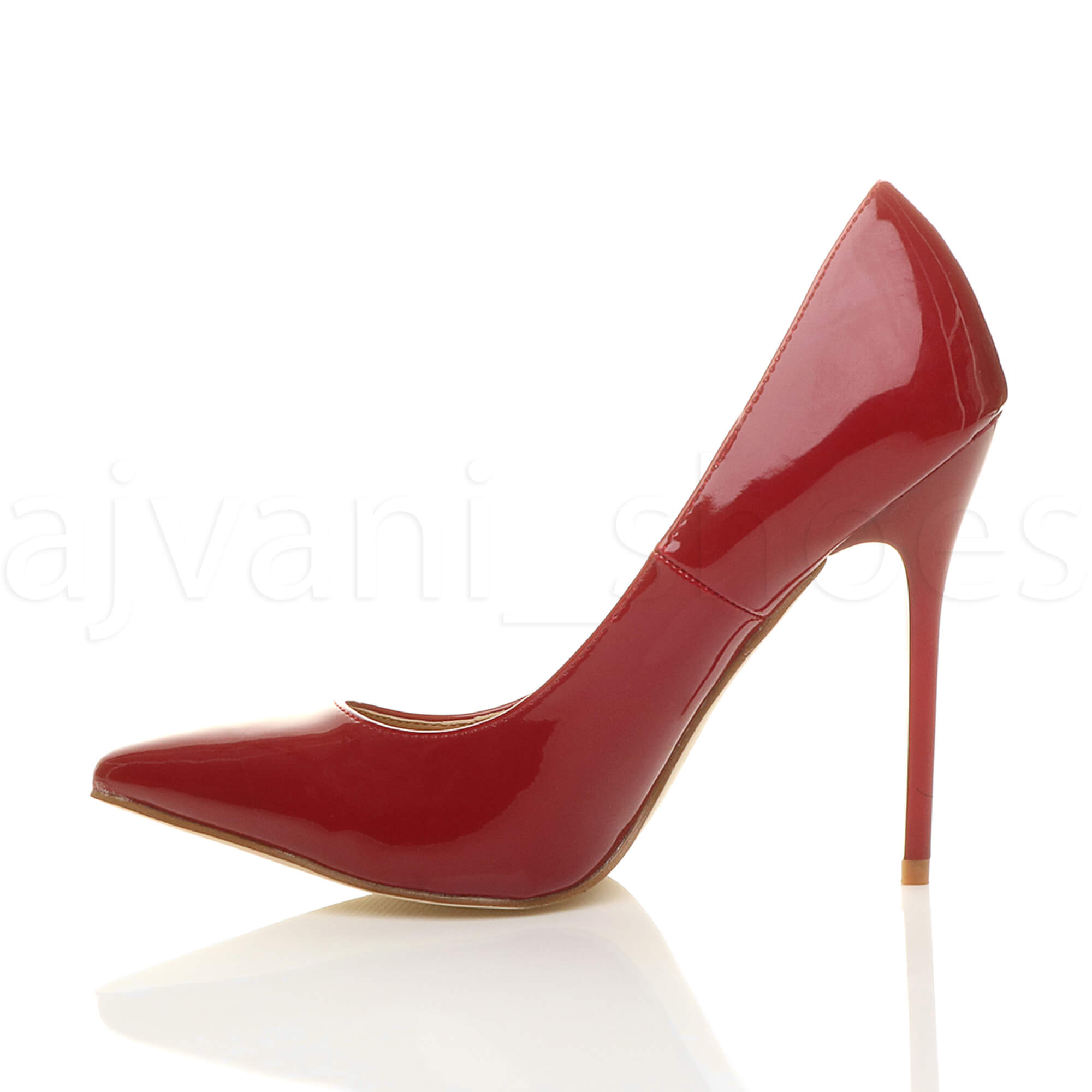 WOMENS-LADIES-HIGH-HEEL-POINTED-CONTRAST-COURT-SMART-PARTY-WORK-SHOES-PUMPS-SIZE thumbnail 36