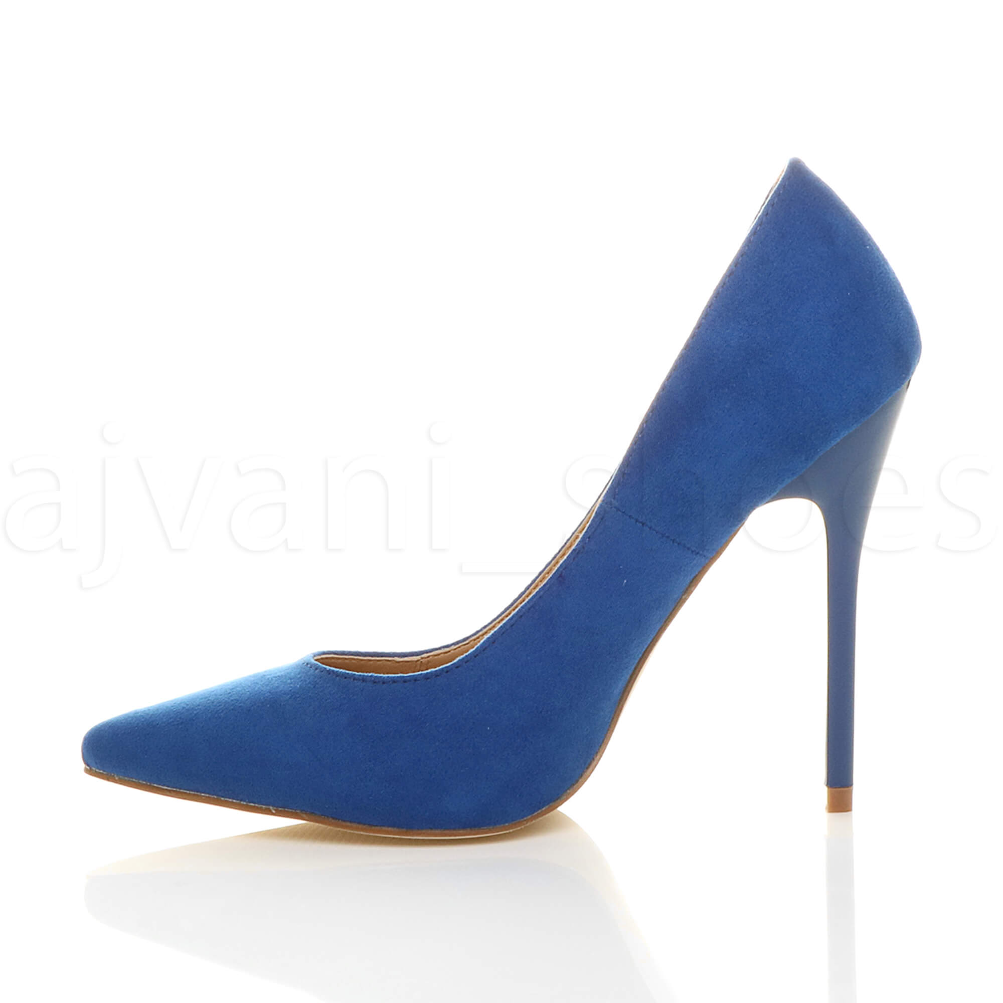 WOMENS-LADIES-HIGH-HEEL-POINTED-CONTRAST-COURT-SMART-PARTY-WORK-SHOES-PUMPS-SIZE thumbnail 44