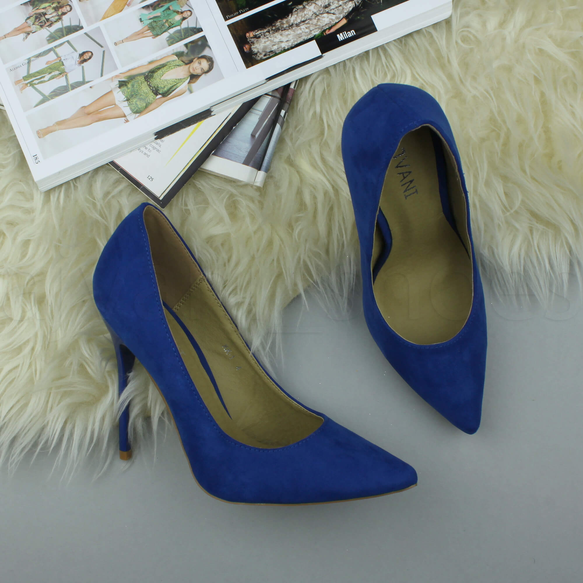 WOMENS-LADIES-HIGH-HEEL-POINTED-CONTRAST-COURT-SMART-PARTY-WORK-SHOES-PUMPS-SIZE thumbnail 45