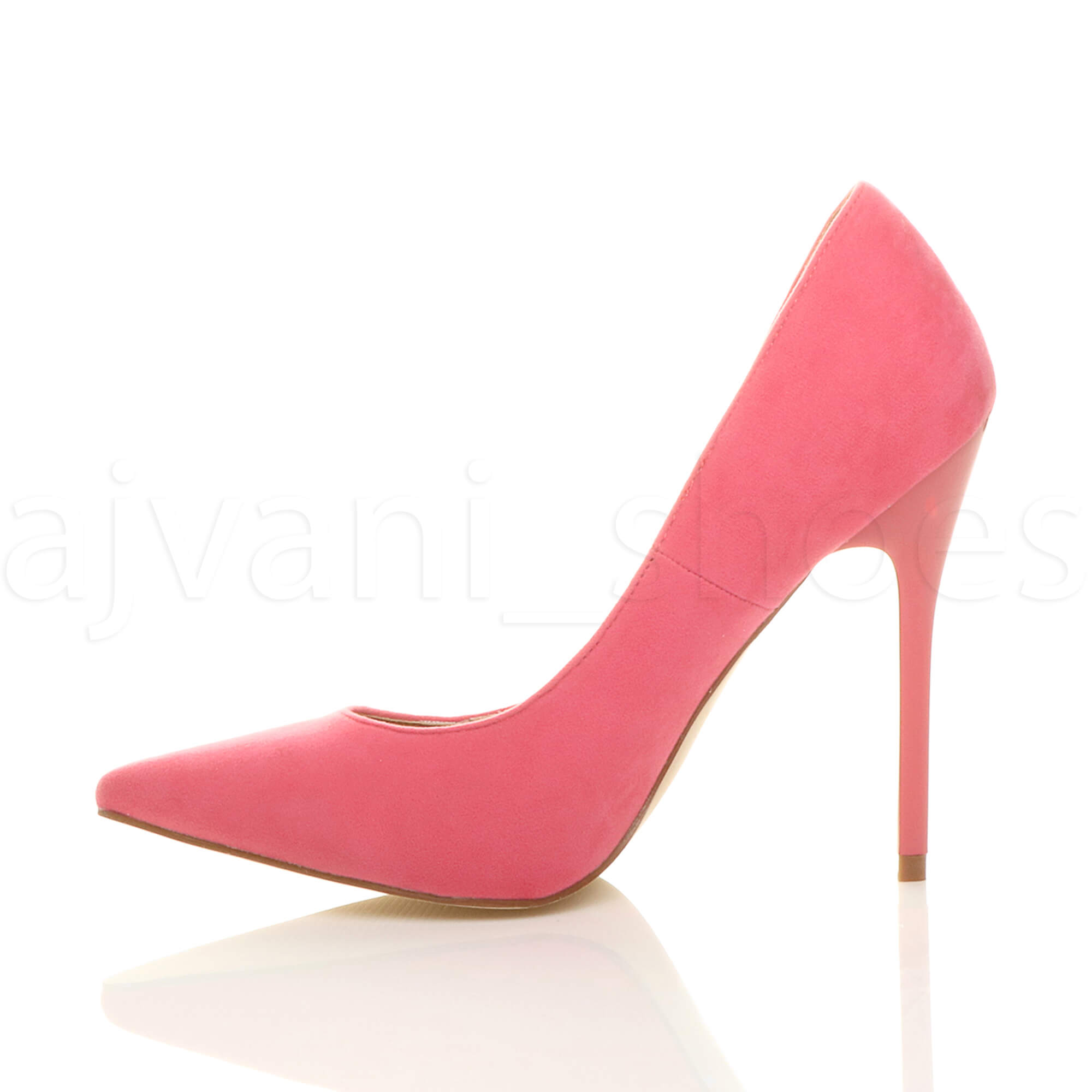 WOMENS-LADIES-HIGH-HEEL-POINTED-CONTRAST-COURT-SMART-PARTY-WORK-SHOES-PUMPS-SIZE thumbnail 154