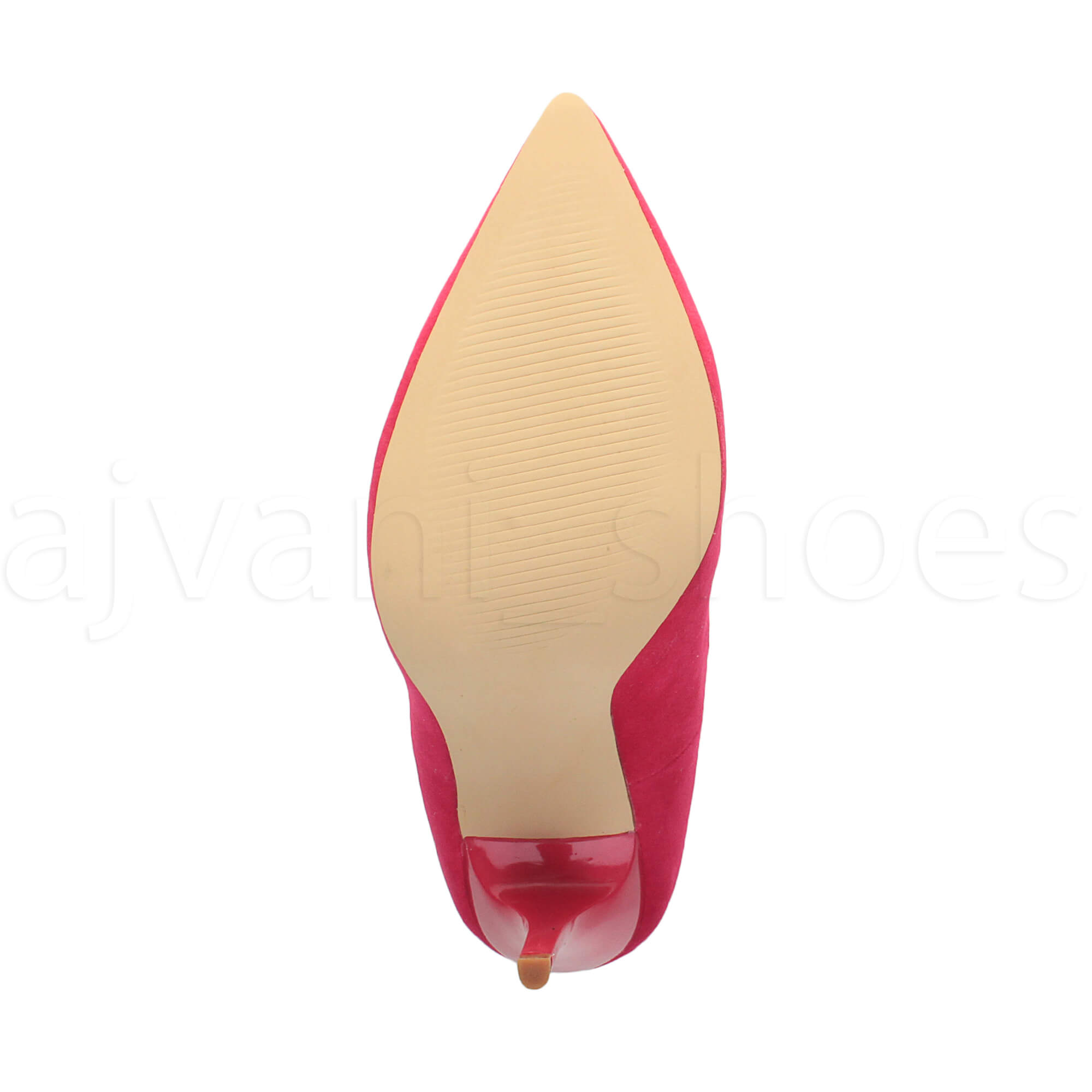 WOMENS-LADIES-HIGH-HEEL-POINTED-CONTRAST-COURT-SMART-PARTY-WORK-SHOES-PUMPS-SIZE thumbnail 87
