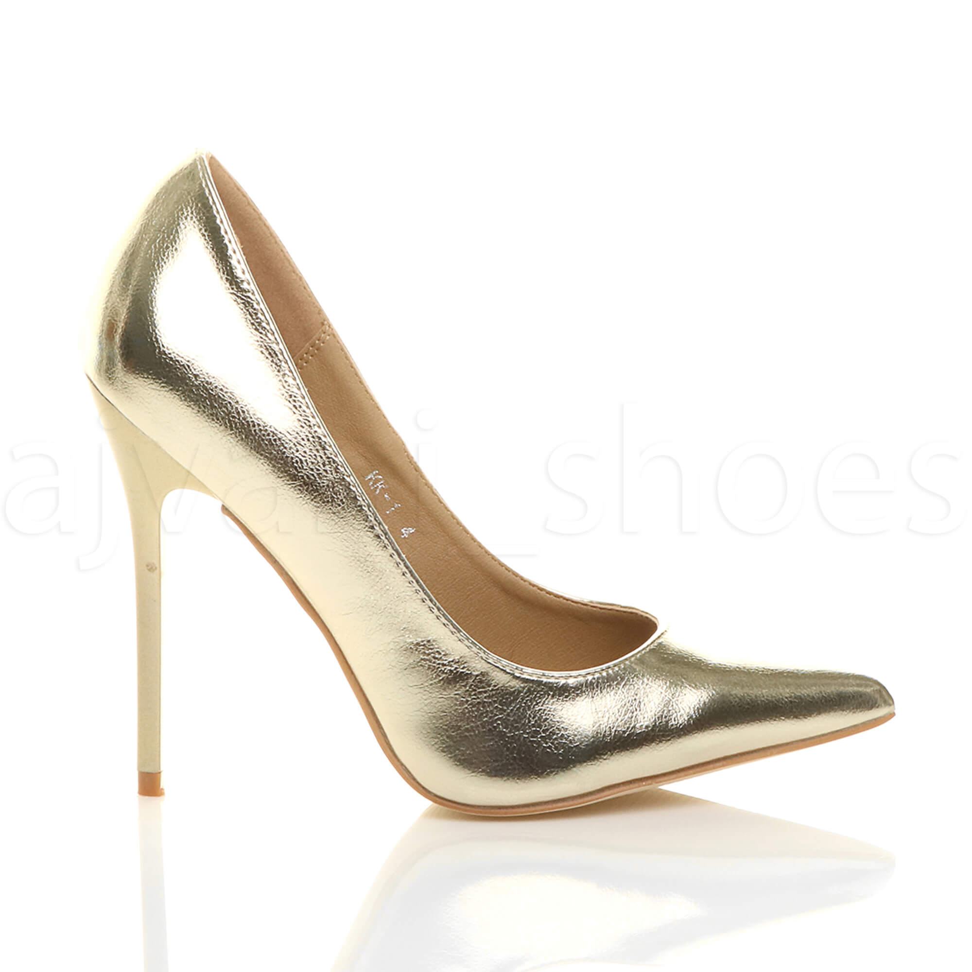 WOMENS-LADIES-HIGH-HEEL-POINTED-CONTRAST-COURT-SMART-PARTY-WORK-SHOES-PUMPS-SIZE thumbnail 66