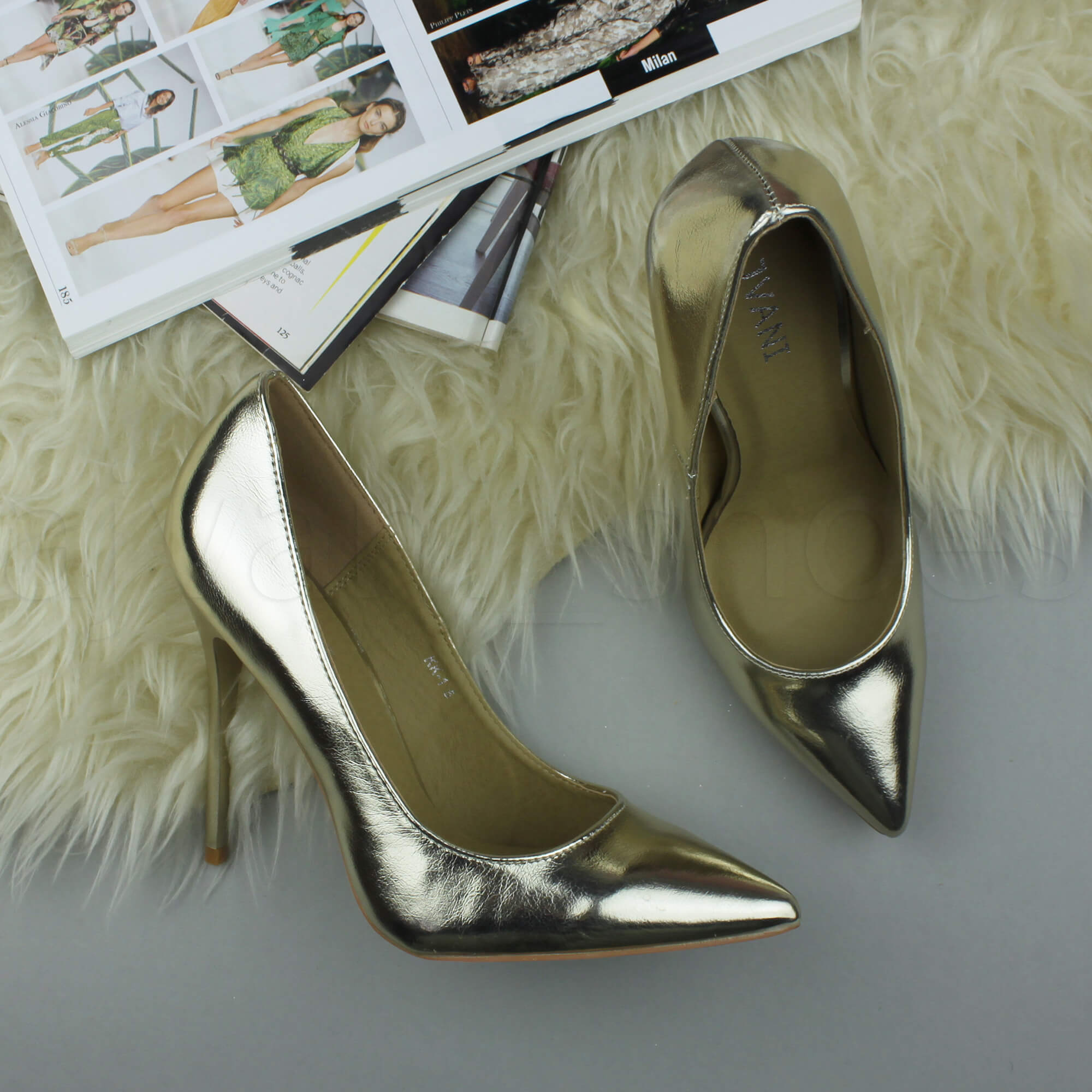 WOMENS-LADIES-HIGH-HEEL-POINTED-CONTRAST-COURT-SMART-PARTY-WORK-SHOES-PUMPS-SIZE thumbnail 68