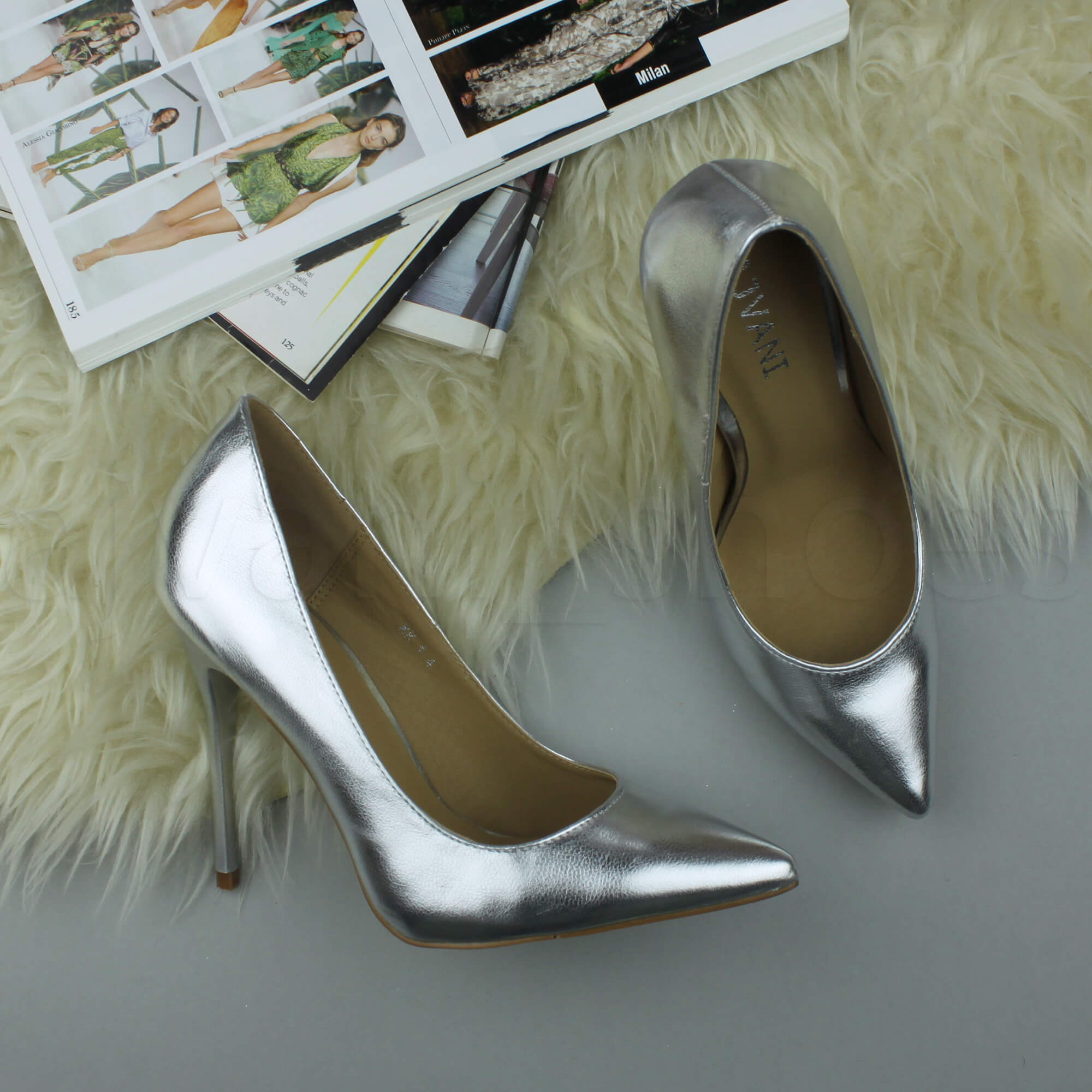 WOMENS-LADIES-HIGH-HEEL-POINTED-CONTRAST-COURT-SMART-PARTY-WORK-SHOES-PUMPS-SIZE thumbnail 195