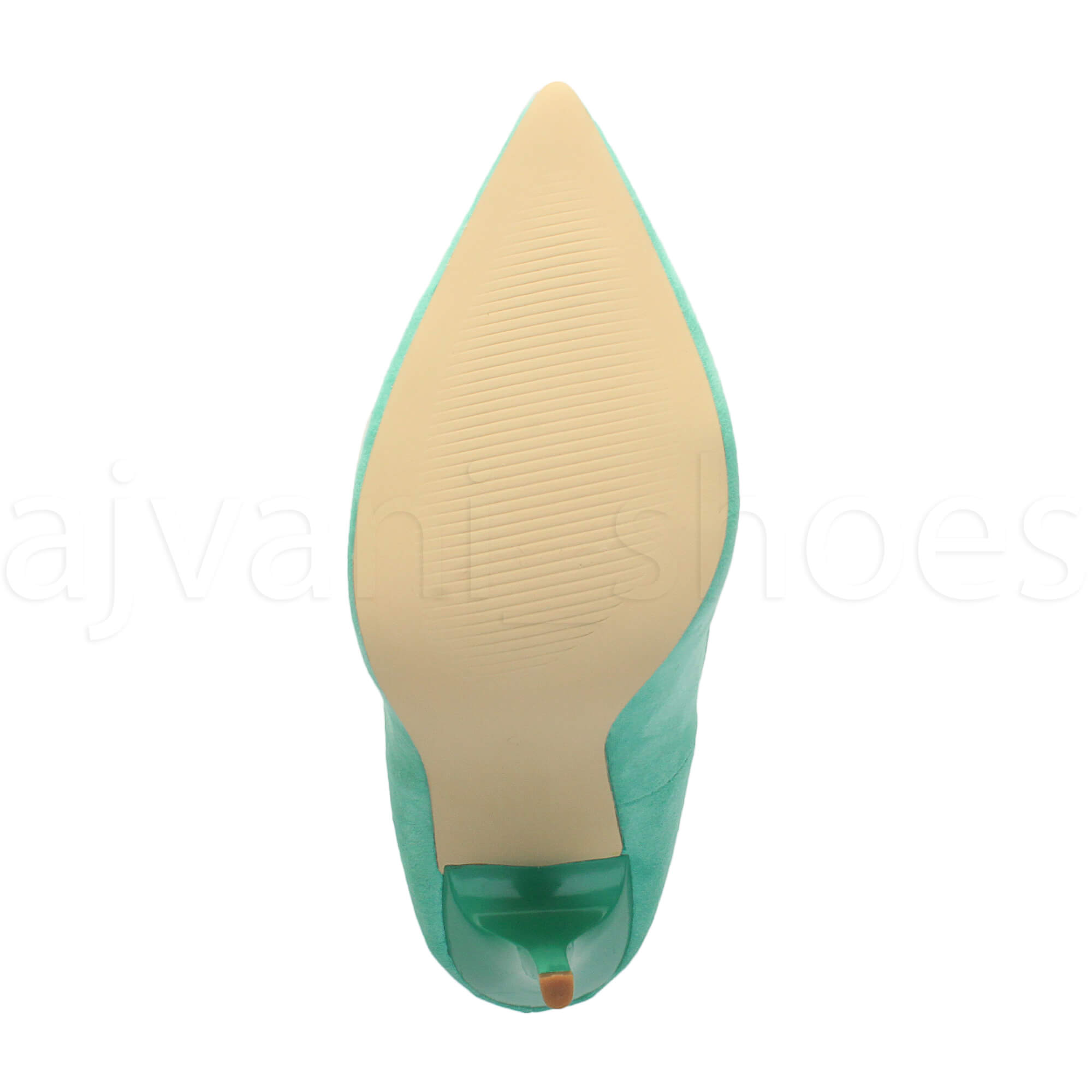 WOMENS-LADIES-HIGH-HEEL-POINTED-CONTRAST-COURT-SMART-PARTY-WORK-SHOES-PUMPS-SIZE thumbnail 151