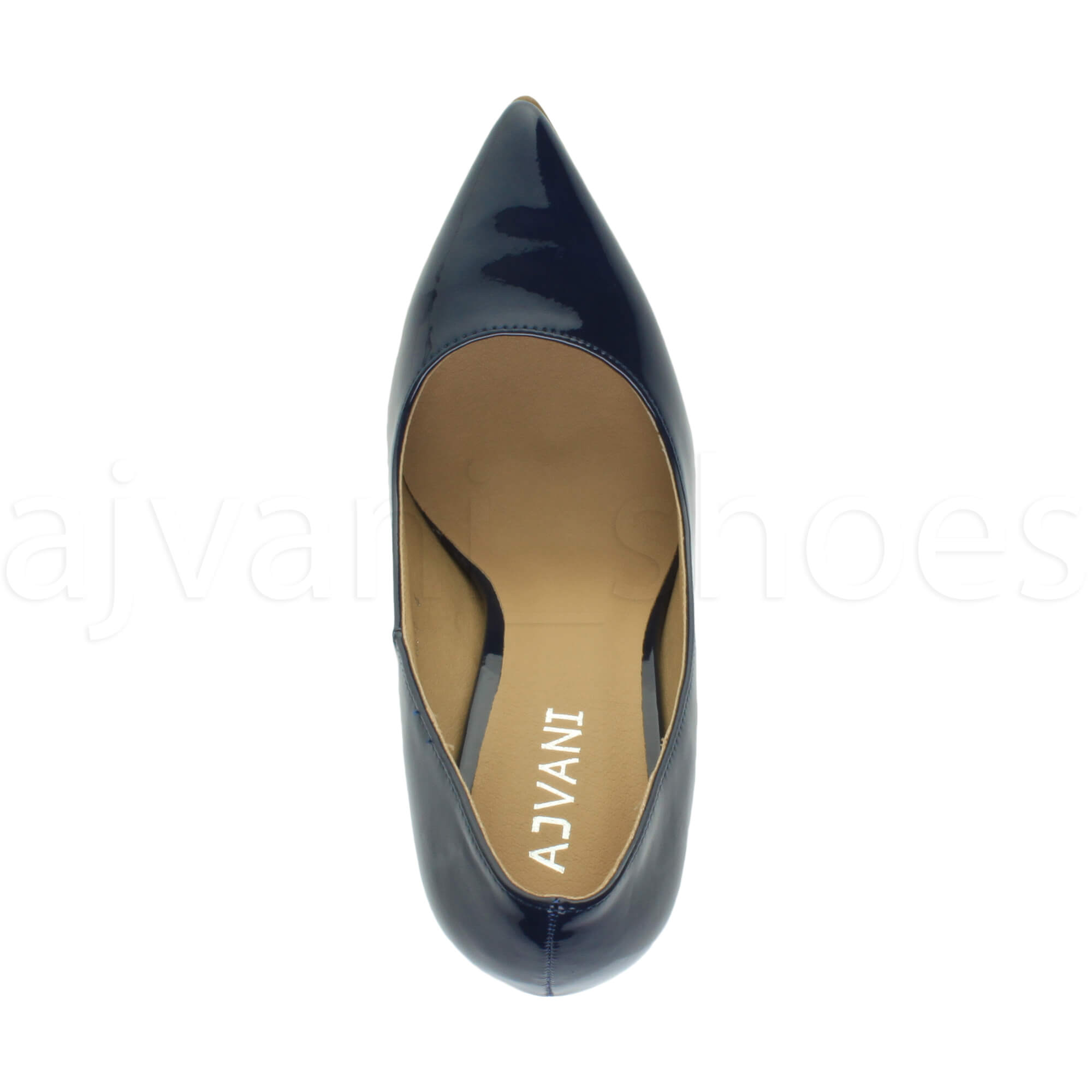 WOMENS-LADIES-HIGH-HEEL-POINTED-CONTRAST-COURT-SMART-PARTY-WORK-SHOES-PUMPS-SIZE thumbnail 102
