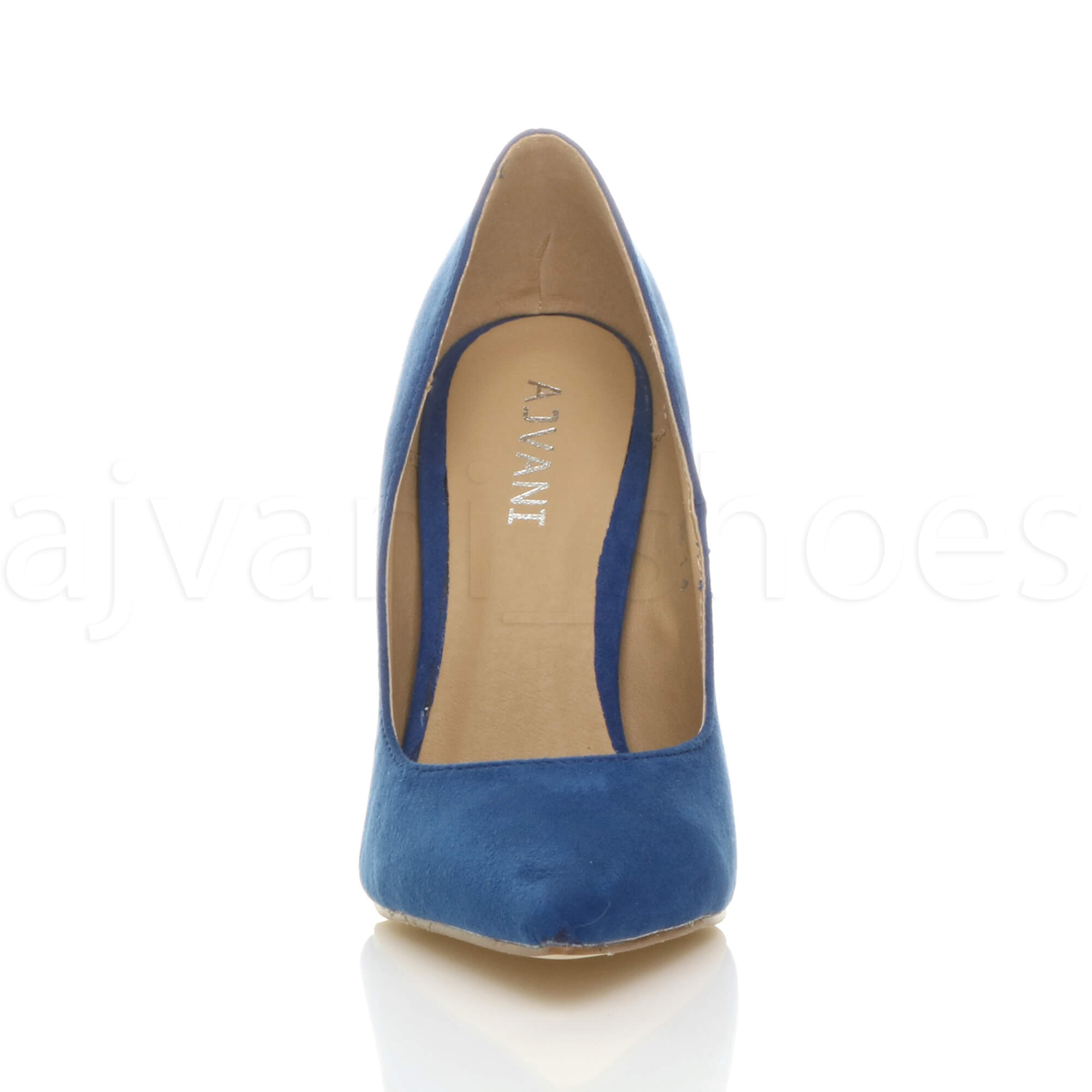 WOMENS-LADIES-HIGH-HEEL-POINTED-CONTRAST-COURT-SMART-PARTY-WORK-SHOES-PUMPS-SIZE thumbnail 54