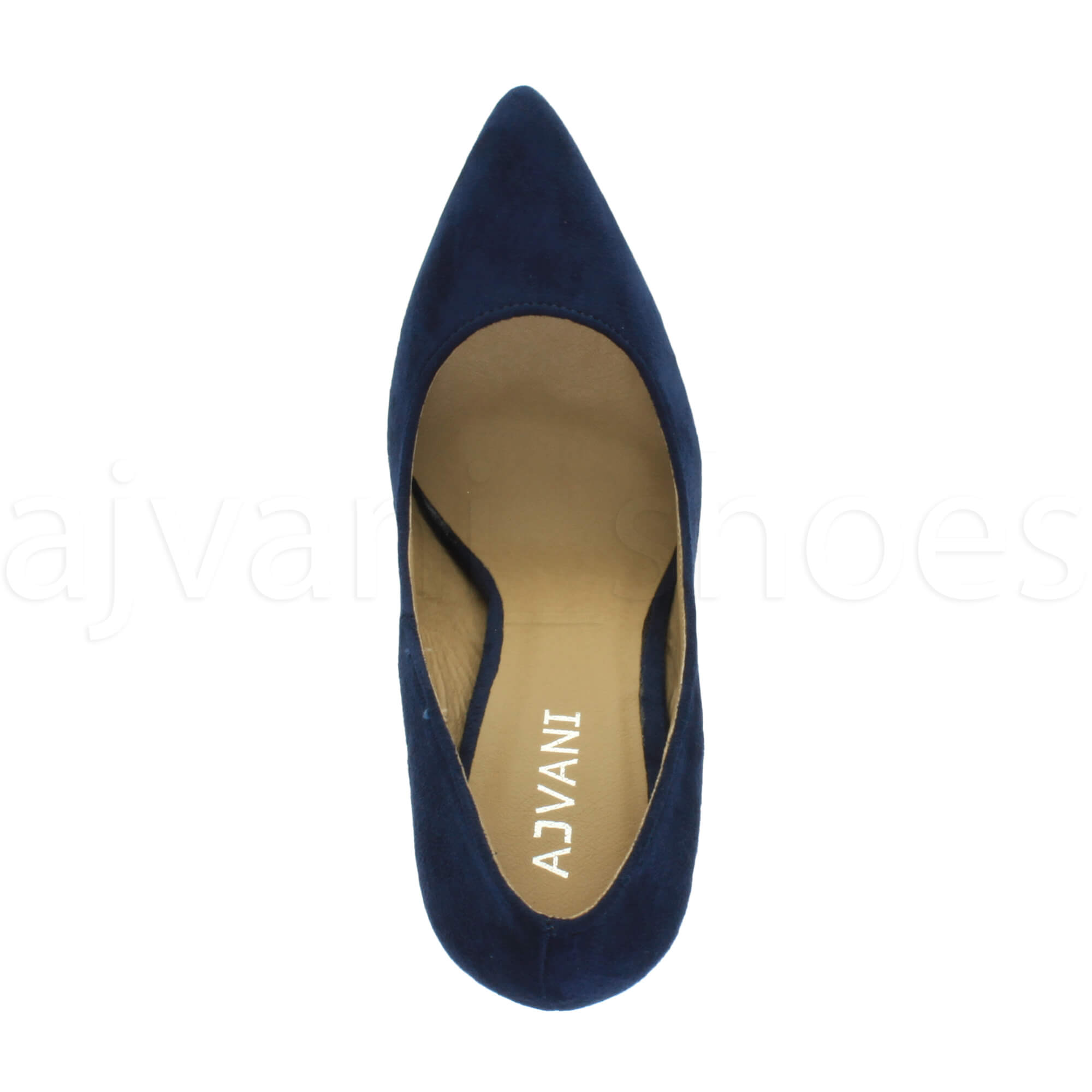 WOMENS-LADIES-HIGH-HEEL-POINTED-CONTRAST-COURT-SMART-PARTY-WORK-SHOES-PUMPS-SIZE thumbnail 55