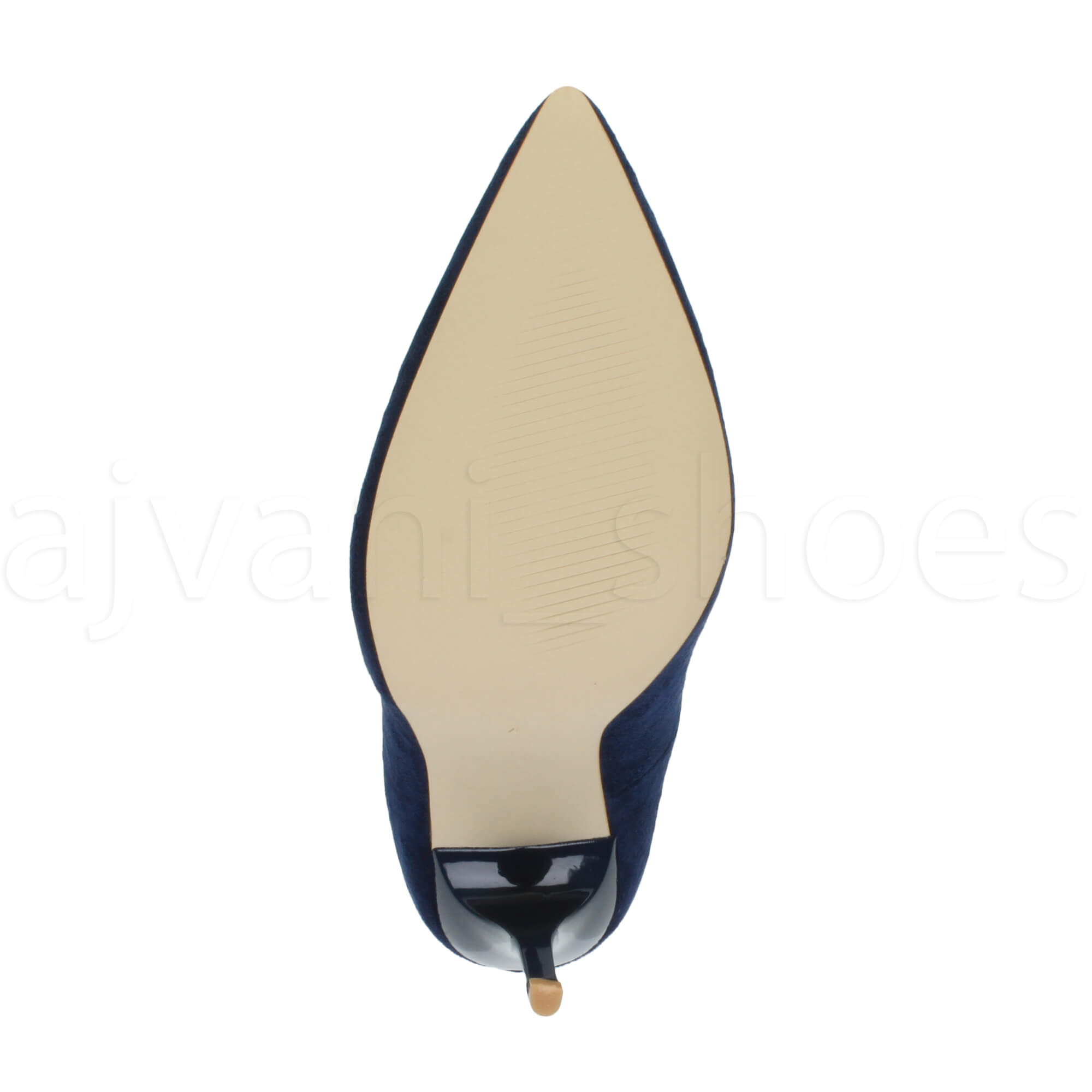 WOMENS-LADIES-HIGH-HEEL-POINTED-CONTRAST-COURT-SMART-PARTY-WORK-SHOES-PUMPS-SIZE thumbnail 56
