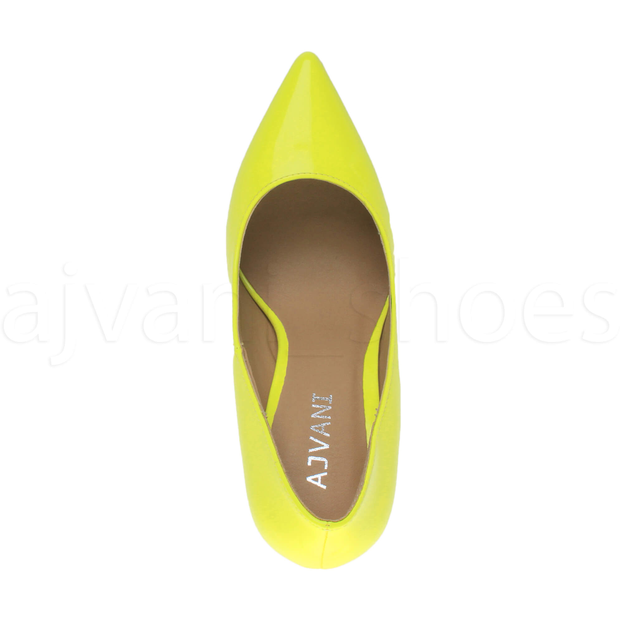 WOMENS-LADIES-HIGH-HEEL-POINTED-CONTRAST-COURT-SMART-PARTY-WORK-SHOES-PUMPS-SIZE thumbnail 118