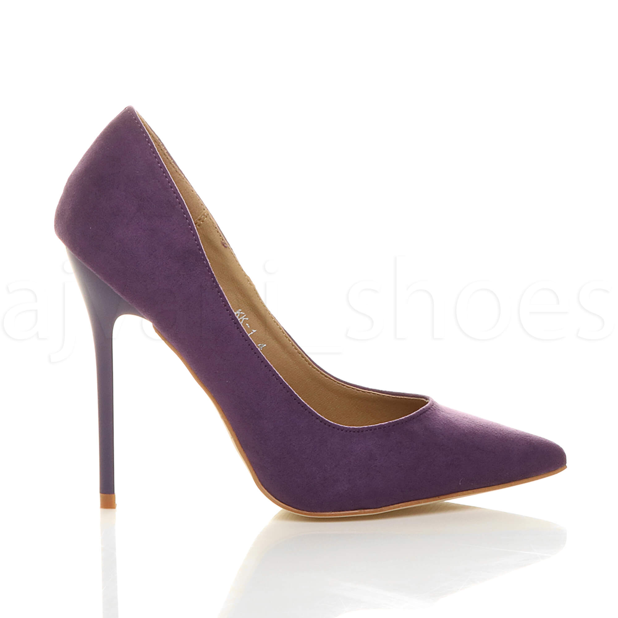WOMENS-LADIES-HIGH-HEEL-POINTED-CONTRAST-COURT-SMART-PARTY-WORK-SHOES-PUMPS-SIZE thumbnail 153