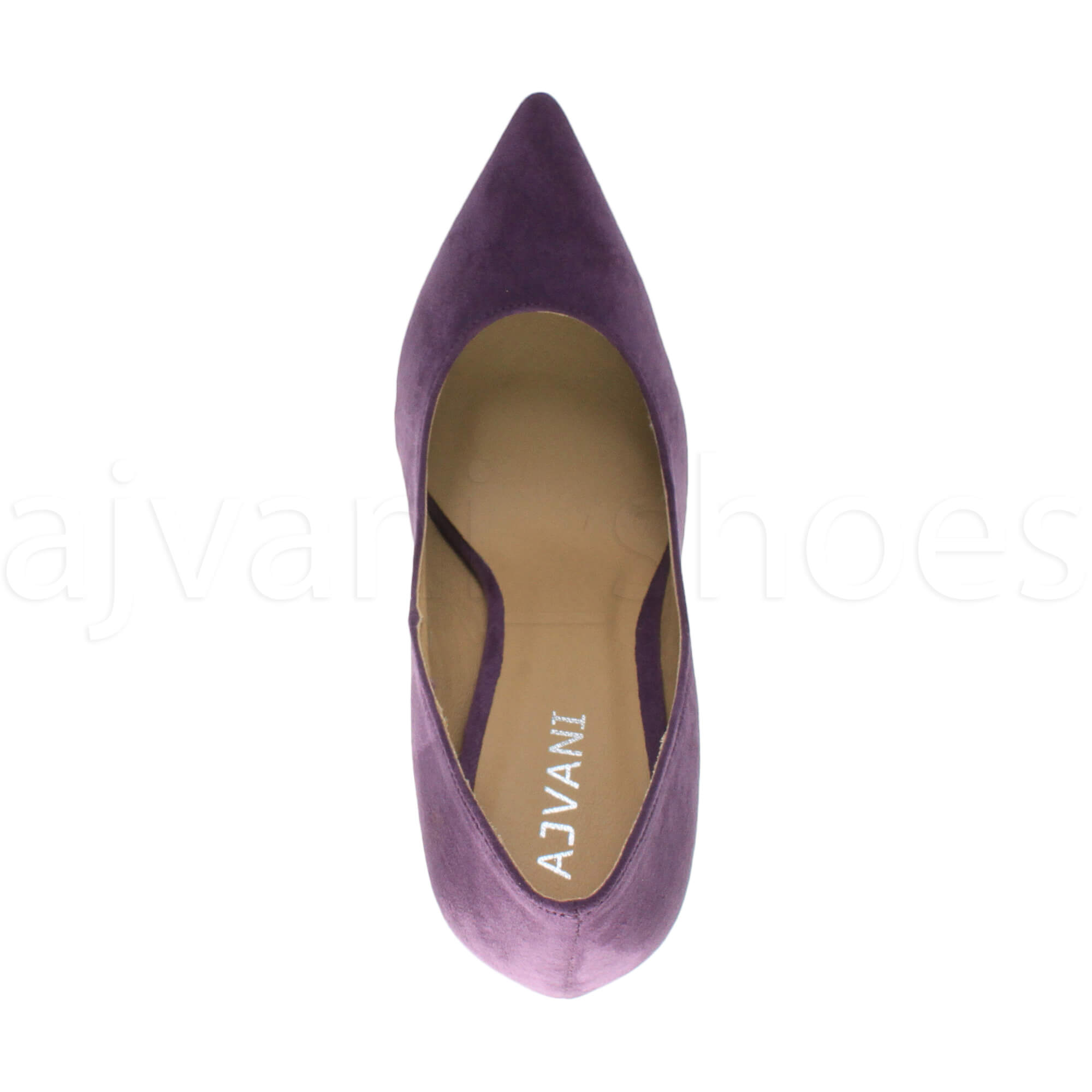WOMENS-LADIES-HIGH-HEEL-POINTED-CONTRAST-COURT-SMART-PARTY-WORK-SHOES-PUMPS-SIZE thumbnail 158