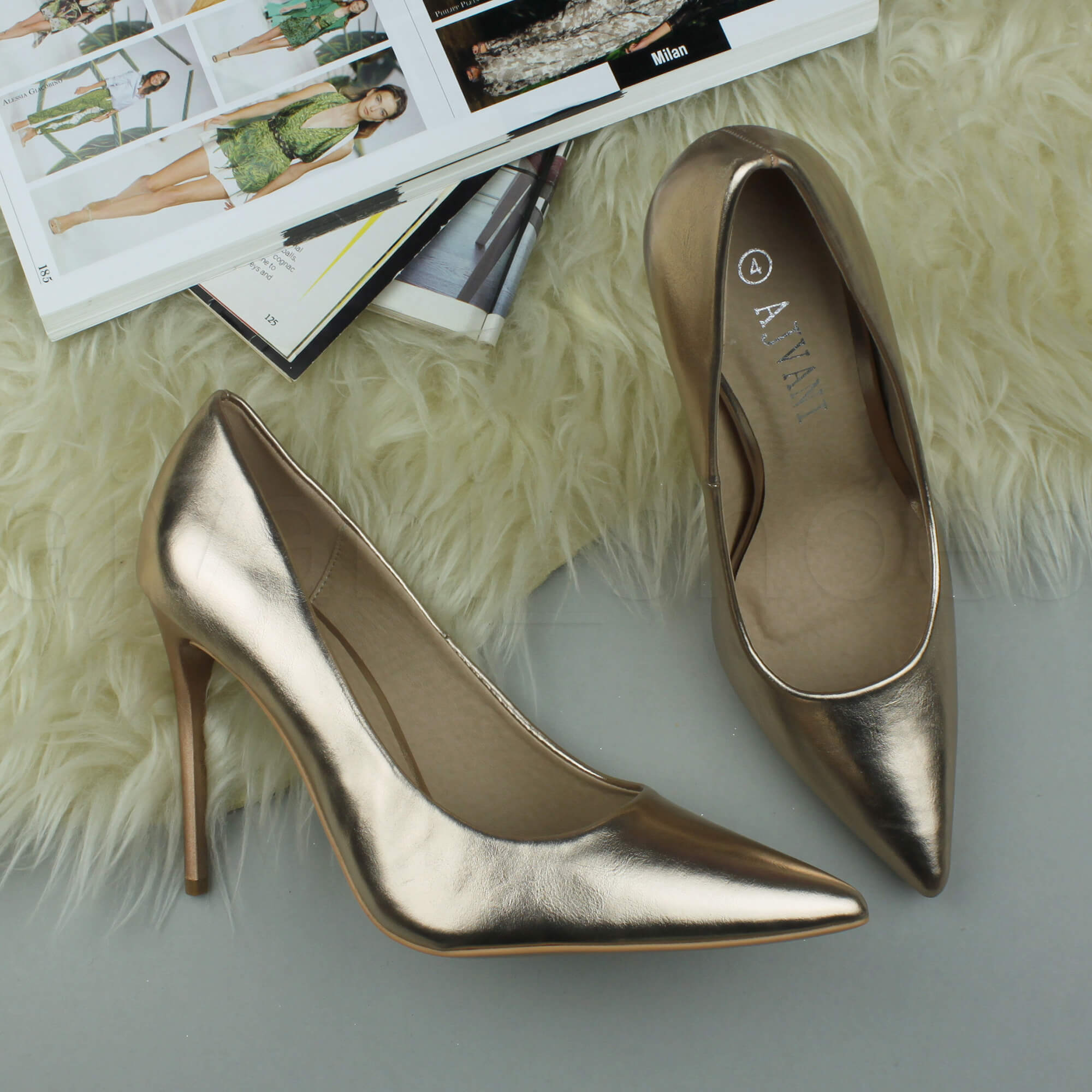 WOMENS-LADIES-HIGH-HEEL-POINTED-CONTRAST-COURT-SMART-PARTY-WORK-SHOES-PUMPS-SIZE thumbnail 179