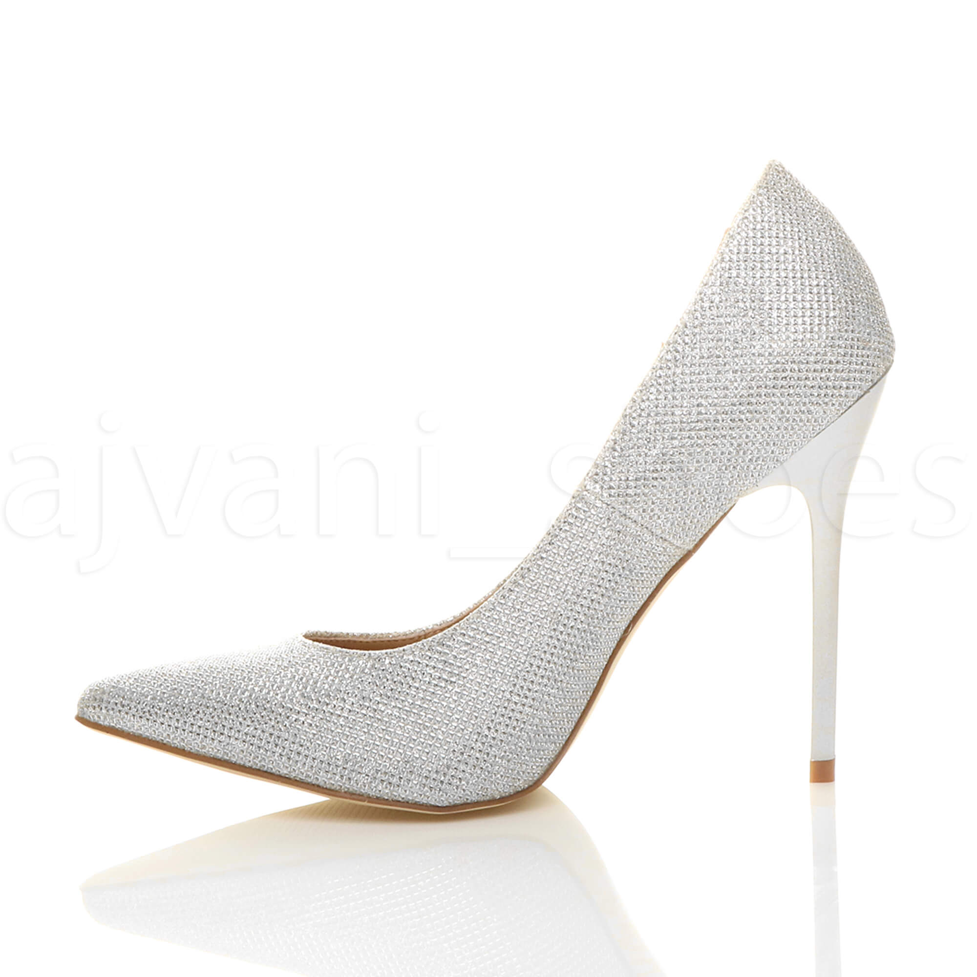 WOMENS-LADIES-HIGH-HEEL-POINTED-CONTRAST-COURT-SMART-PARTY-WORK-SHOES-PUMPS-SIZE thumbnail 201