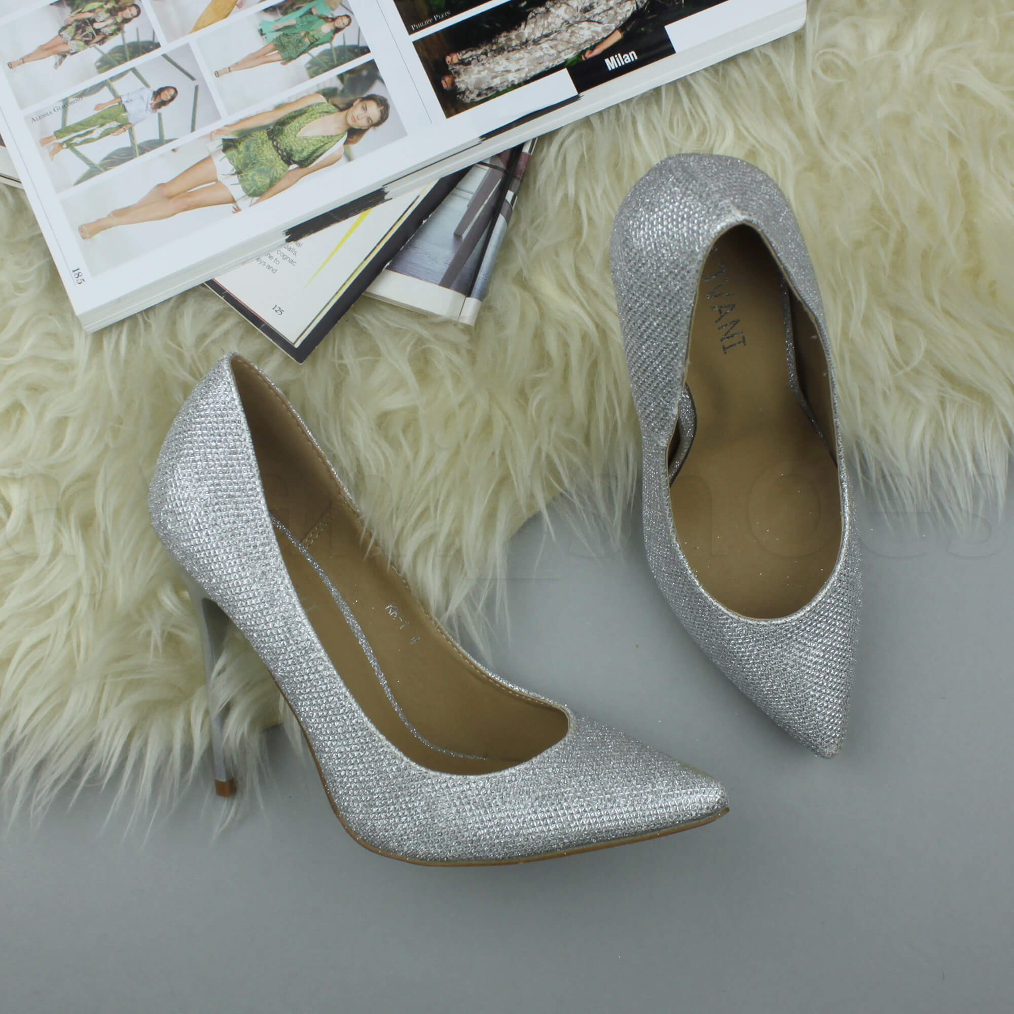 WOMENS-LADIES-HIGH-HEEL-POINTED-CONTRAST-COURT-SMART-PARTY-WORK-SHOES-PUMPS-SIZE thumbnail 202