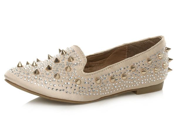 Mujeres Plano Tacón Tachón Bajo Joya  Mocasines Manoletinas  zapatos  Joya Número 567589