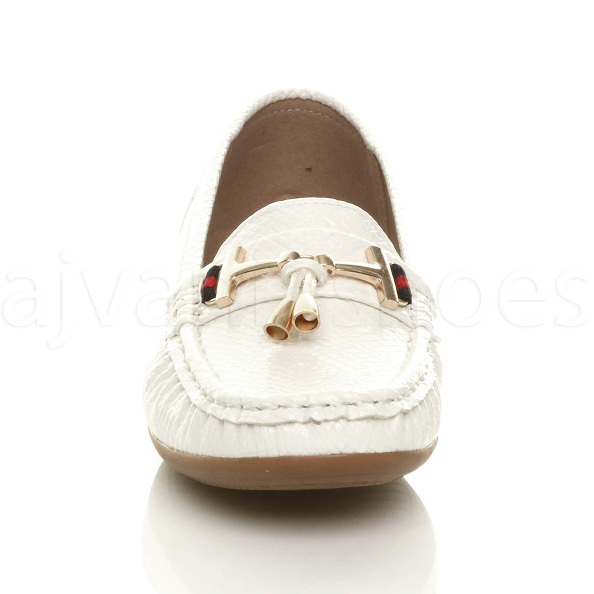 WOMENS-LADIES-LOW-HEEL-WEDGE-LEATHER-TASSEL-LOAFERS-COMFORT-MOCCASINS-SHOES-SIZE thumbnail 55