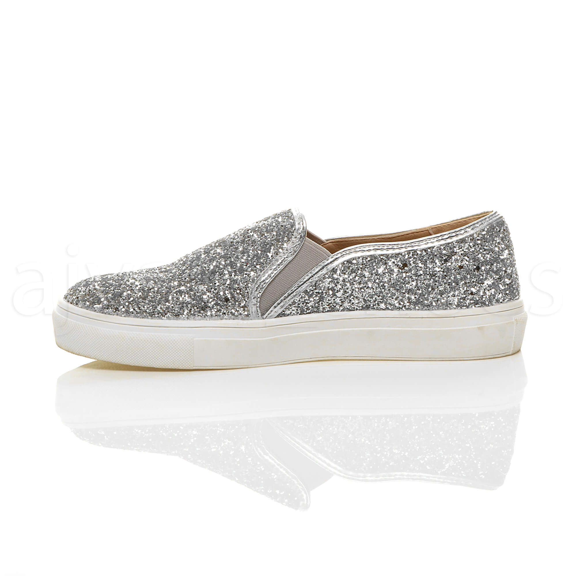 Silver Glitter Shoes Uk