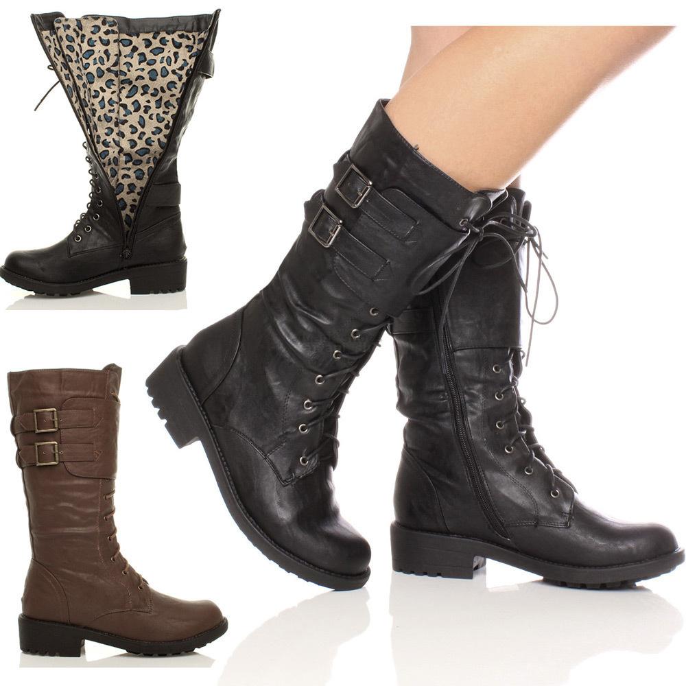 chaussures femme basses femme talon plat fermeture clair mi hauteur lacets fourrure boucle. Black Bedroom Furniture Sets. Home Design Ideas