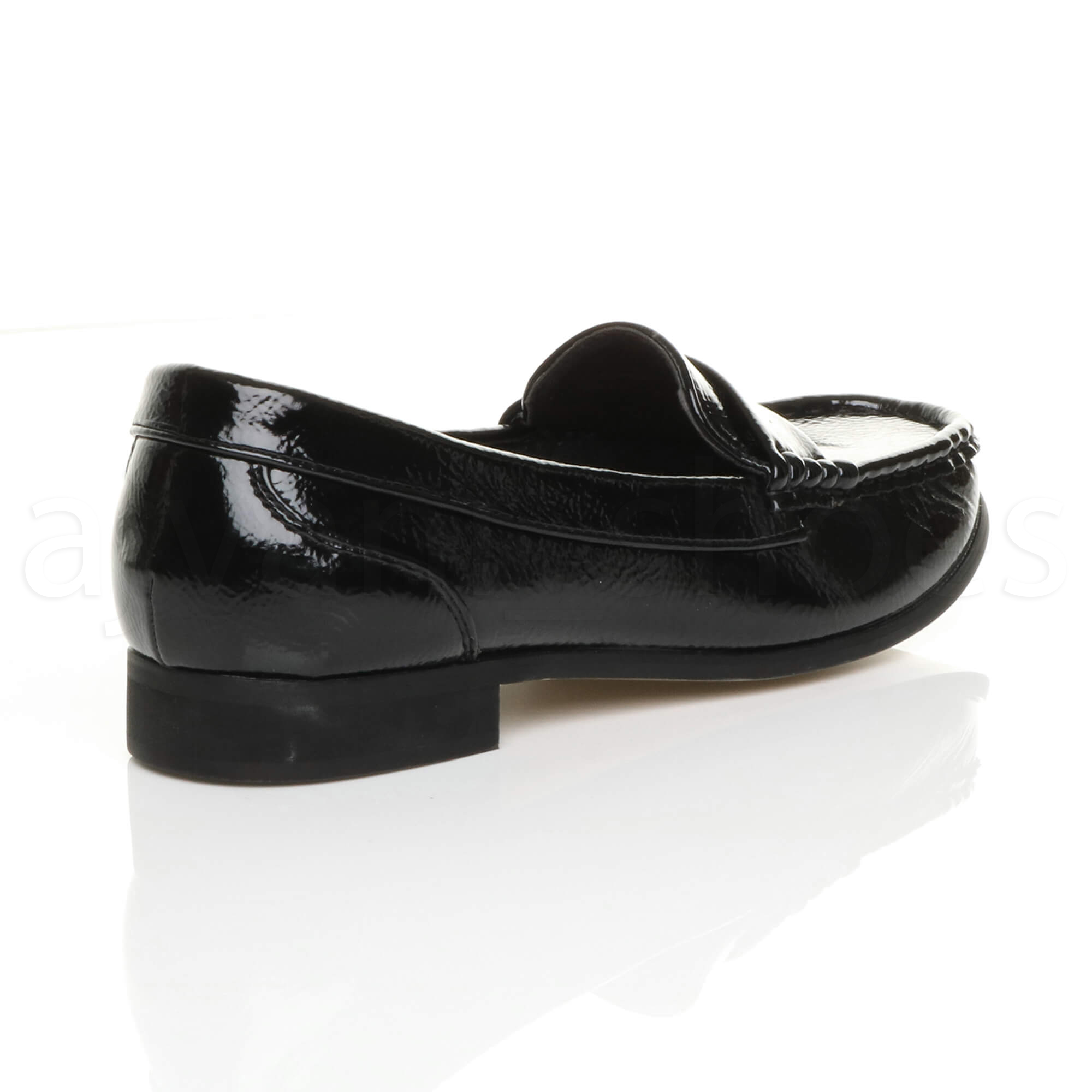 Ladies Wedge Loafer Shoes