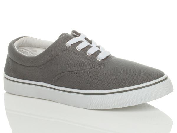 Mens Lambretta Lace Up Casual Canvas Shoes