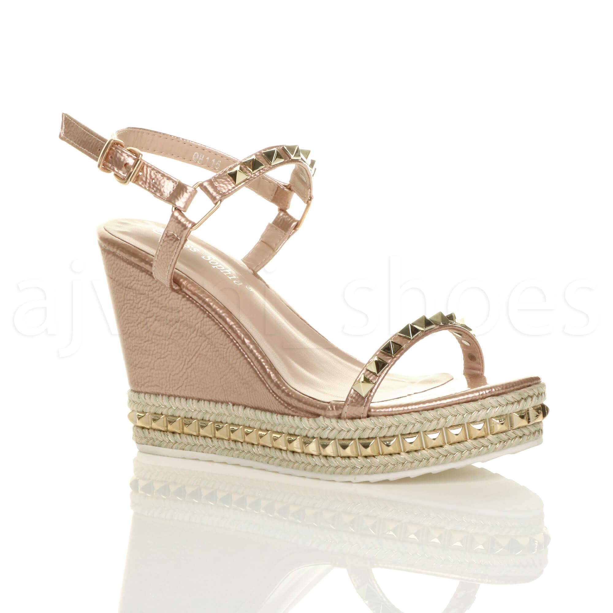 sale retailer 2b282 108c9 Talon taille 37 clouté 5056073937854 espadrilles 4 sandales compensé  plateforme femme SzMpUV