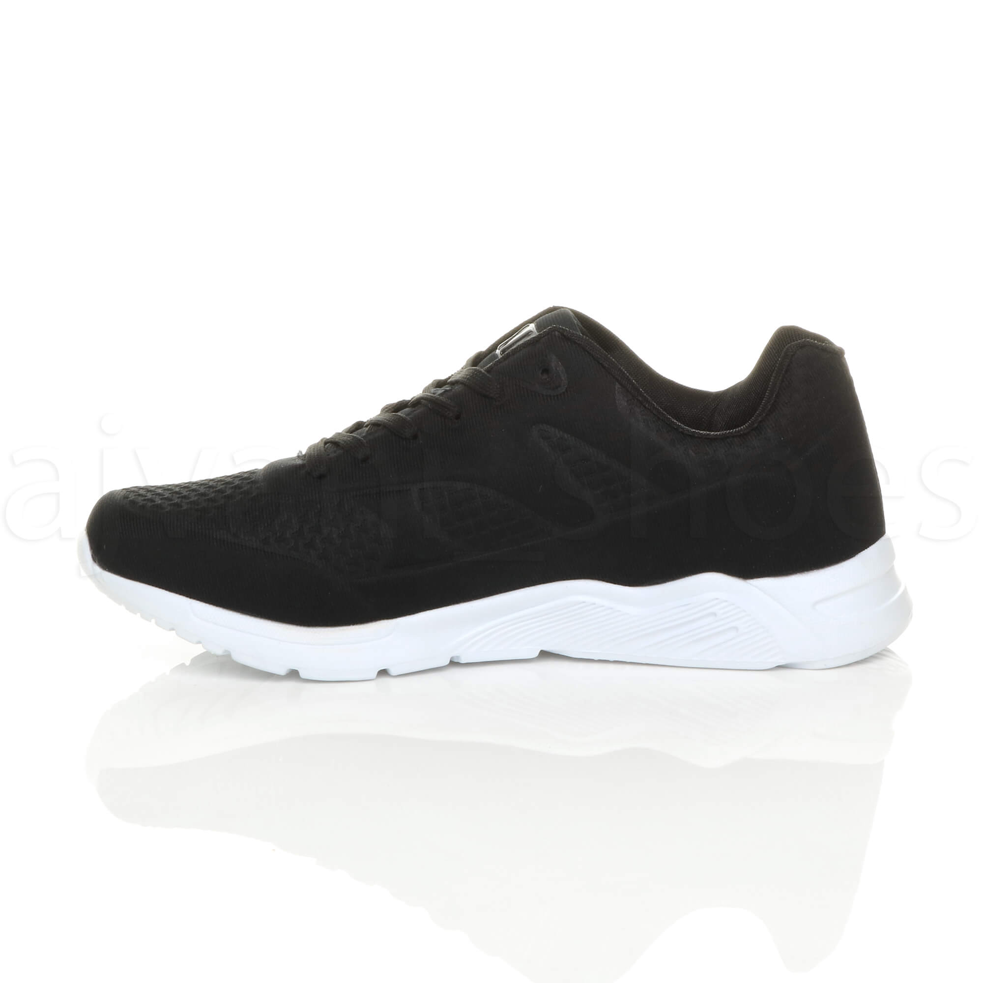 MENS-LACE-UP-FLEXIBLE-SOLE-RUNNING-SPORT-GYM-FITNESS-TRAINERS-SNEAKERS-SIZE miniatuur 4
