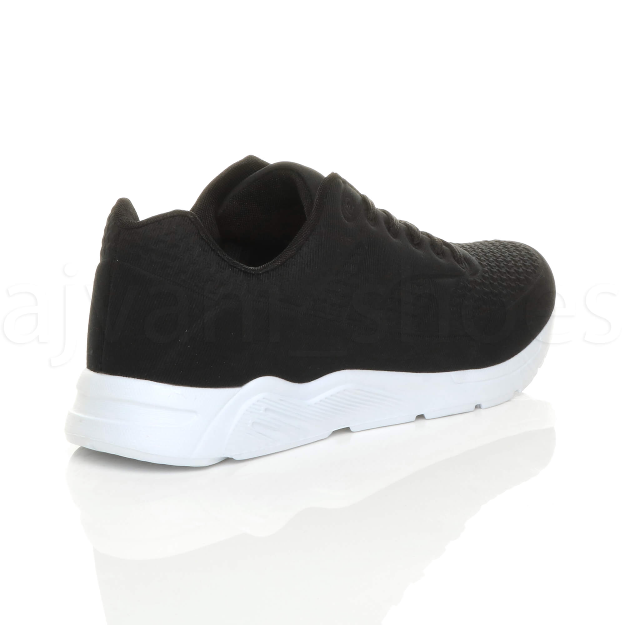 MENS-LACE-UP-FLEXIBLE-SOLE-RUNNING-SPORT-GYM-FITNESS-TRAINERS-SNEAKERS-SIZE miniatuur 5