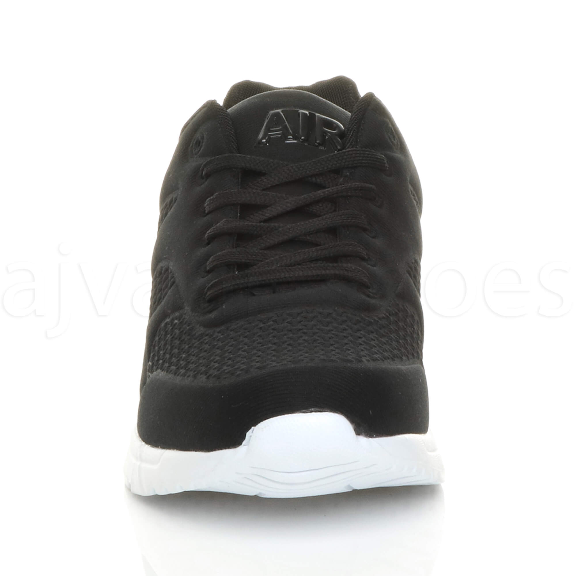 MENS-LACE-UP-FLEXIBLE-SOLE-RUNNING-SPORT-GYM-FITNESS-TRAINERS-SNEAKERS-SIZE miniatuur 7
