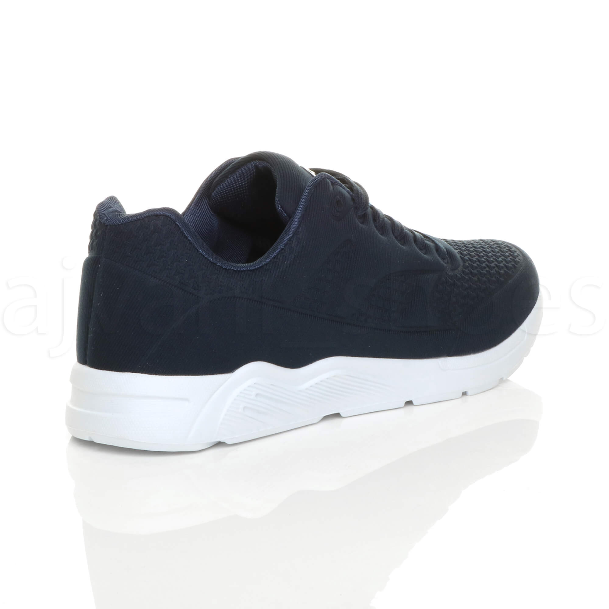 MENS-LACE-UP-FLEXIBLE-SOLE-RUNNING-SPORT-GYM-FITNESS-TRAINERS-SNEAKERS-SIZE miniatuur 13